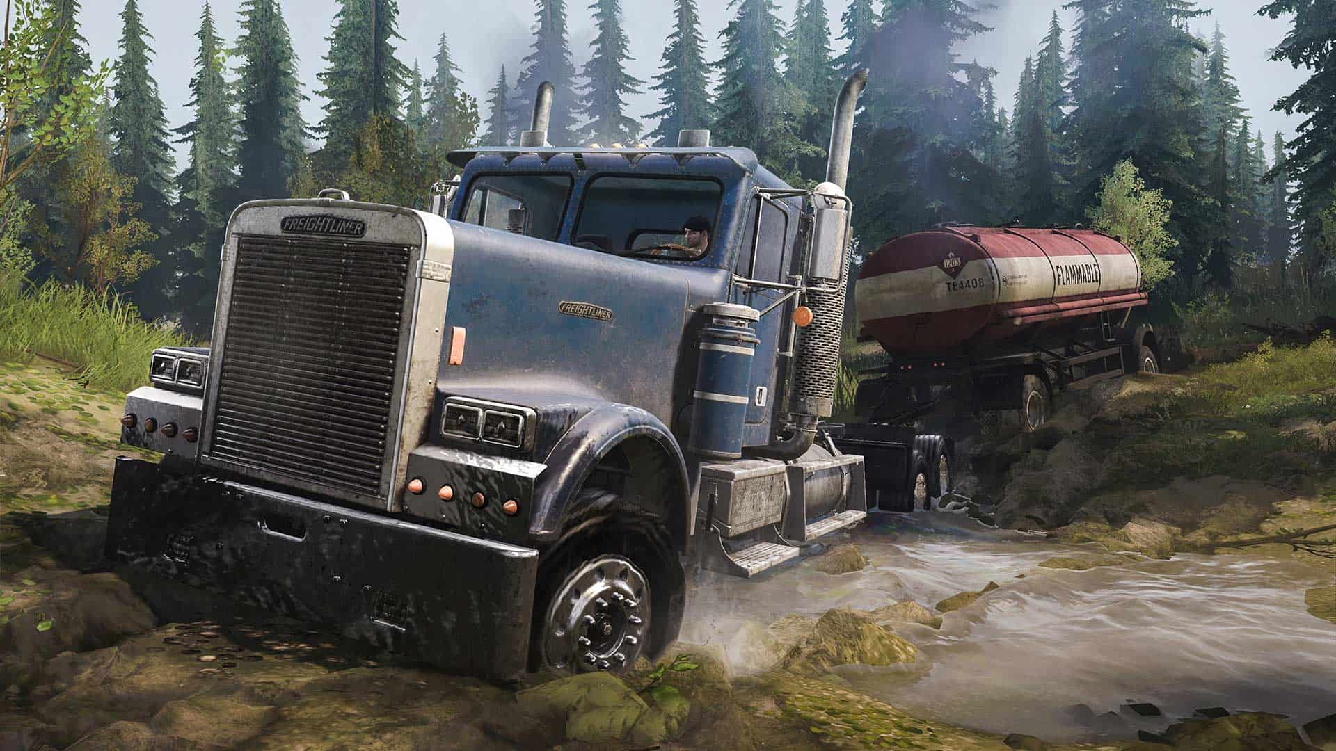 Spintires: Mudrunner - American Wilds Edition Review