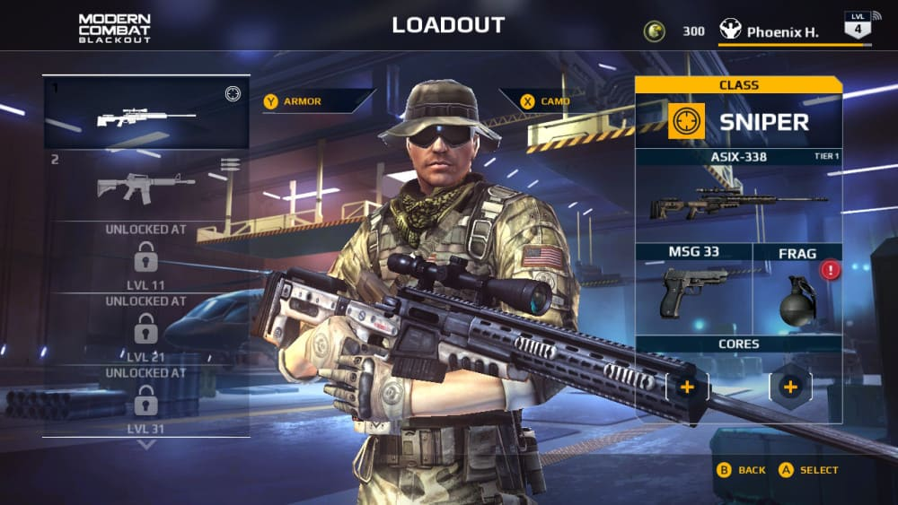 Modern Combat: Blackout - Review