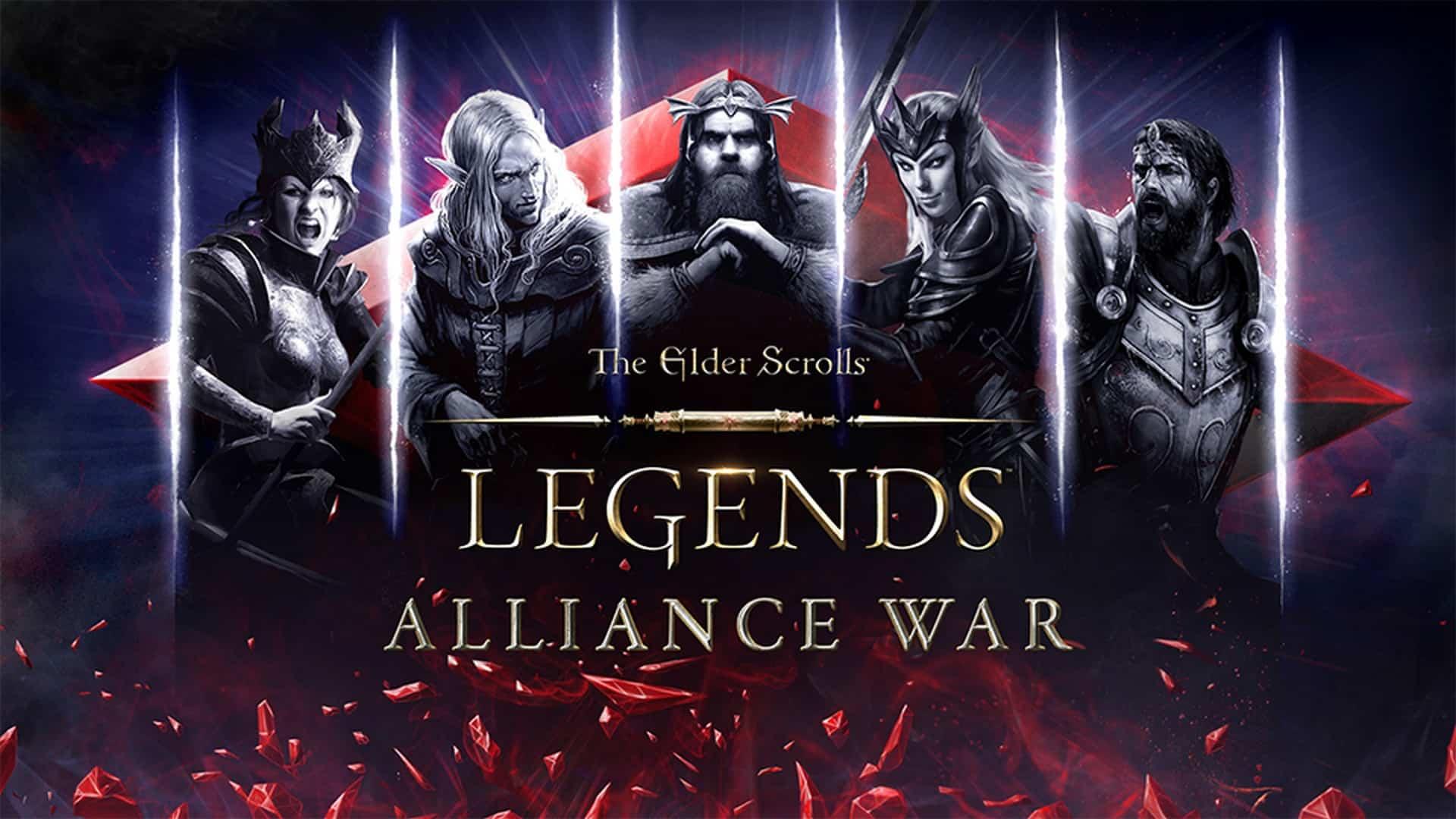 The Elder Scrolls: Legends – Alliance War Available Now