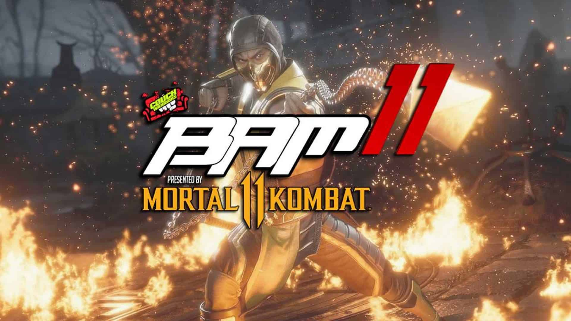 CouchWarriors Announce Mortal Kombat 11 As Platinum Sponsor for BAM11