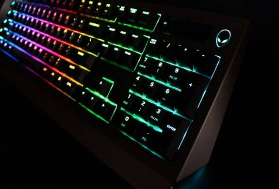 Alienware AW768 Pro Gaming Keyboard - REVIEW