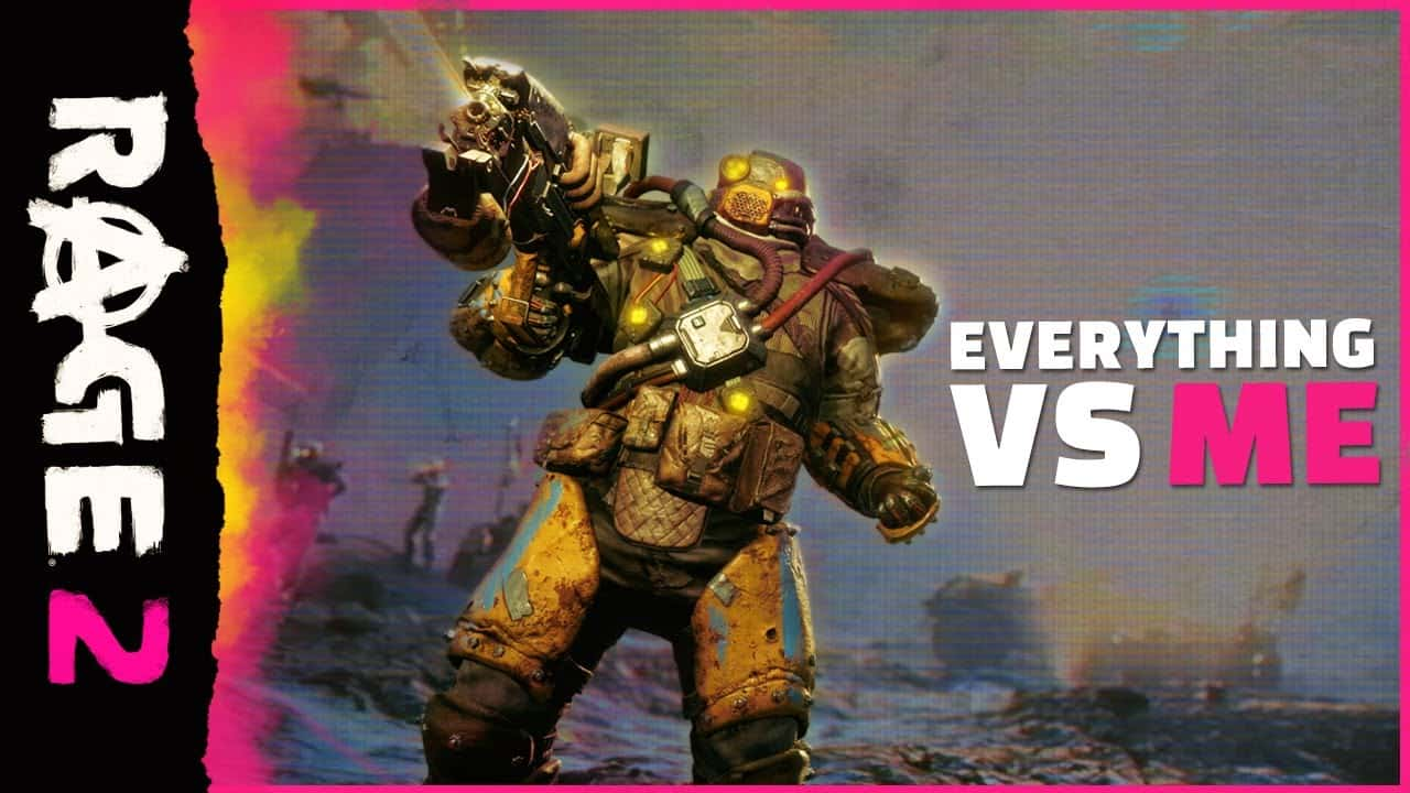 TRAILER: RAGE 2 – Everything Vs Me Trailer Pins Walker Against EVERYTHING