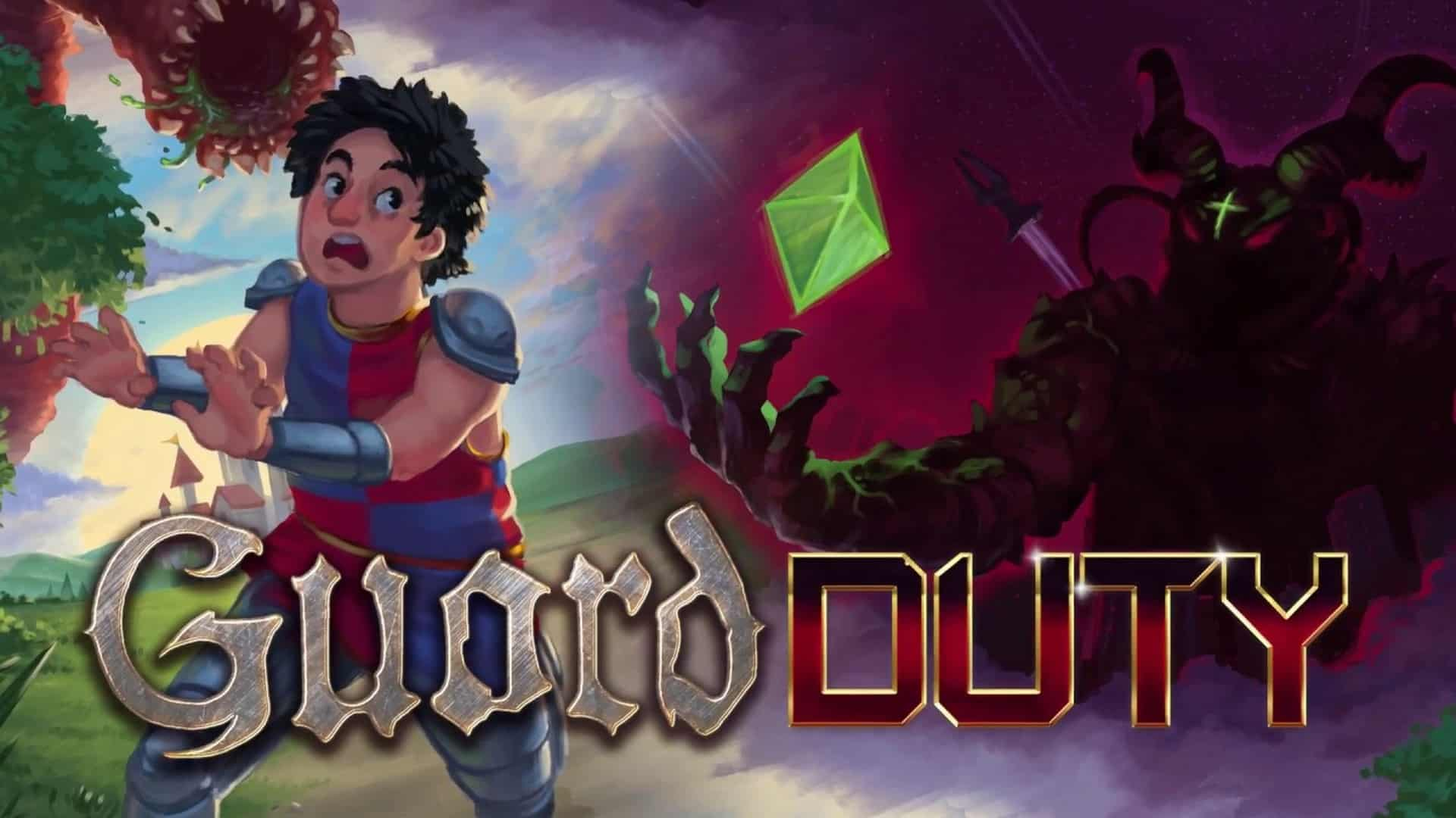 Monkey Island Meets Monty Python In GUARD DUTY – Now On Steam