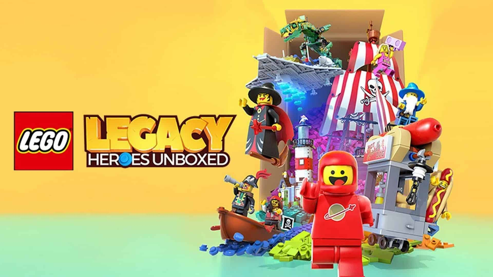 """Gameloft and the LEGO Group Unveil """"LEGO Legacy: Heroes Unboxed"""""""