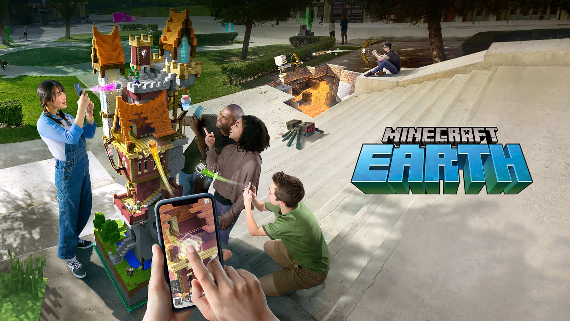 "Celebrating 10 Years Of Minecraft With All-New AR Mobile Game ""Minecraft Earth"""