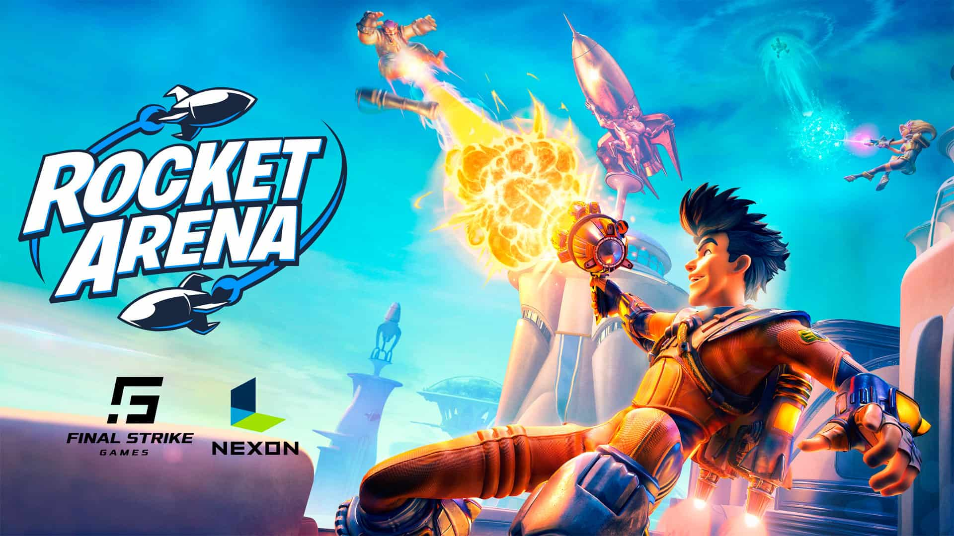 Nexon and Final Strike Games Reveal New Title, Rocket Arena, Entering Closed Beta May 23rd