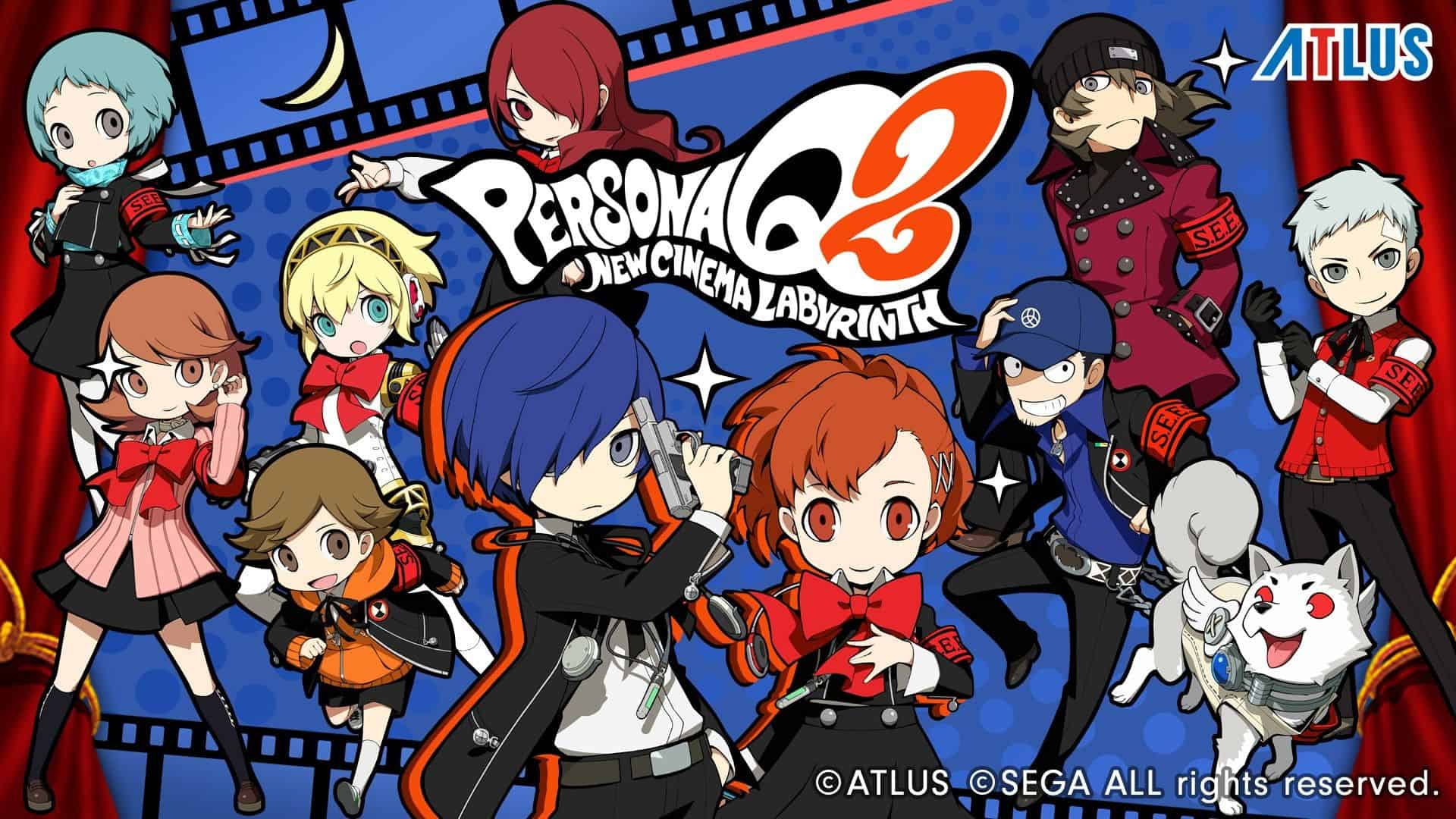 TRAILER: Persona Q2: New Cinema Labyrinth Out Now