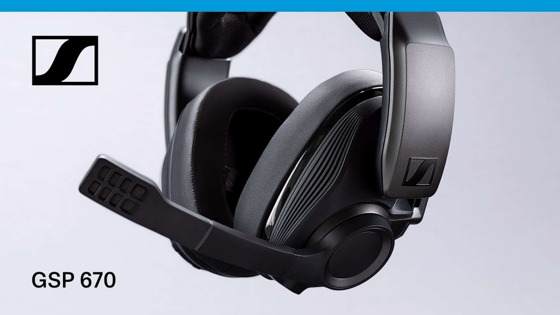 Wireless Freedom For Gamers - Sennheiser Introduces The GSP