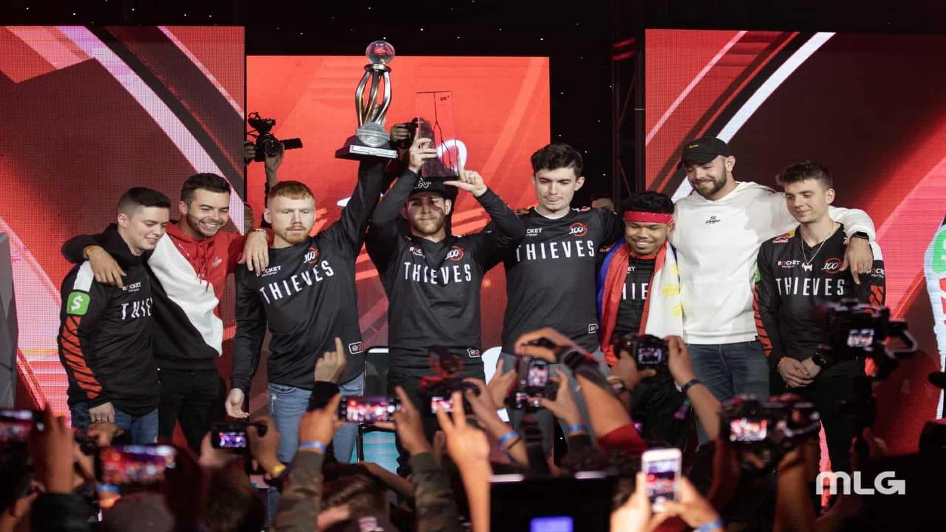 100 Thieves Named Champions Of The CWL Anaheim Cup