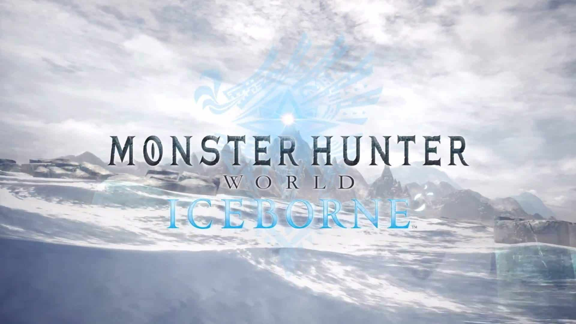 Brand New Monster Hunter World: Iceborne Trailer Introduces Frosty New Storyline