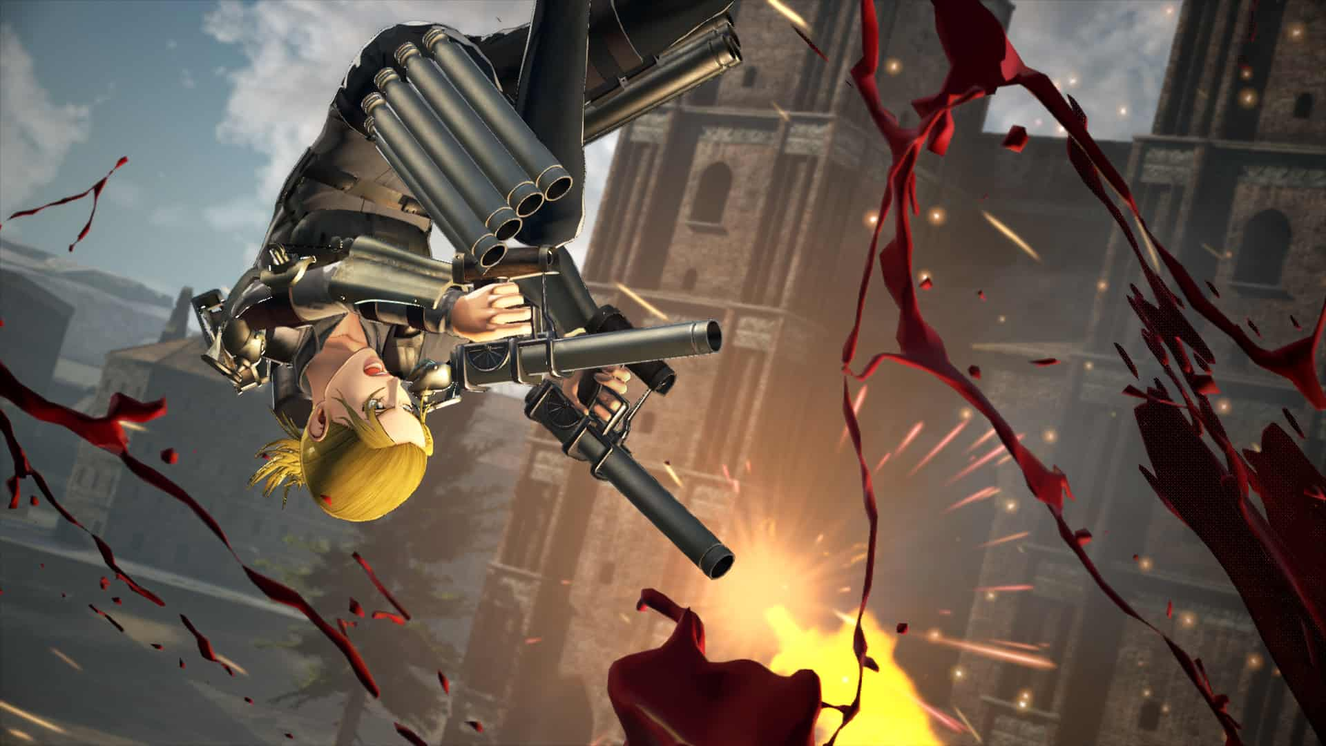 Utilise Powerful New Weaponry In A.O.T. 2: Final Battle