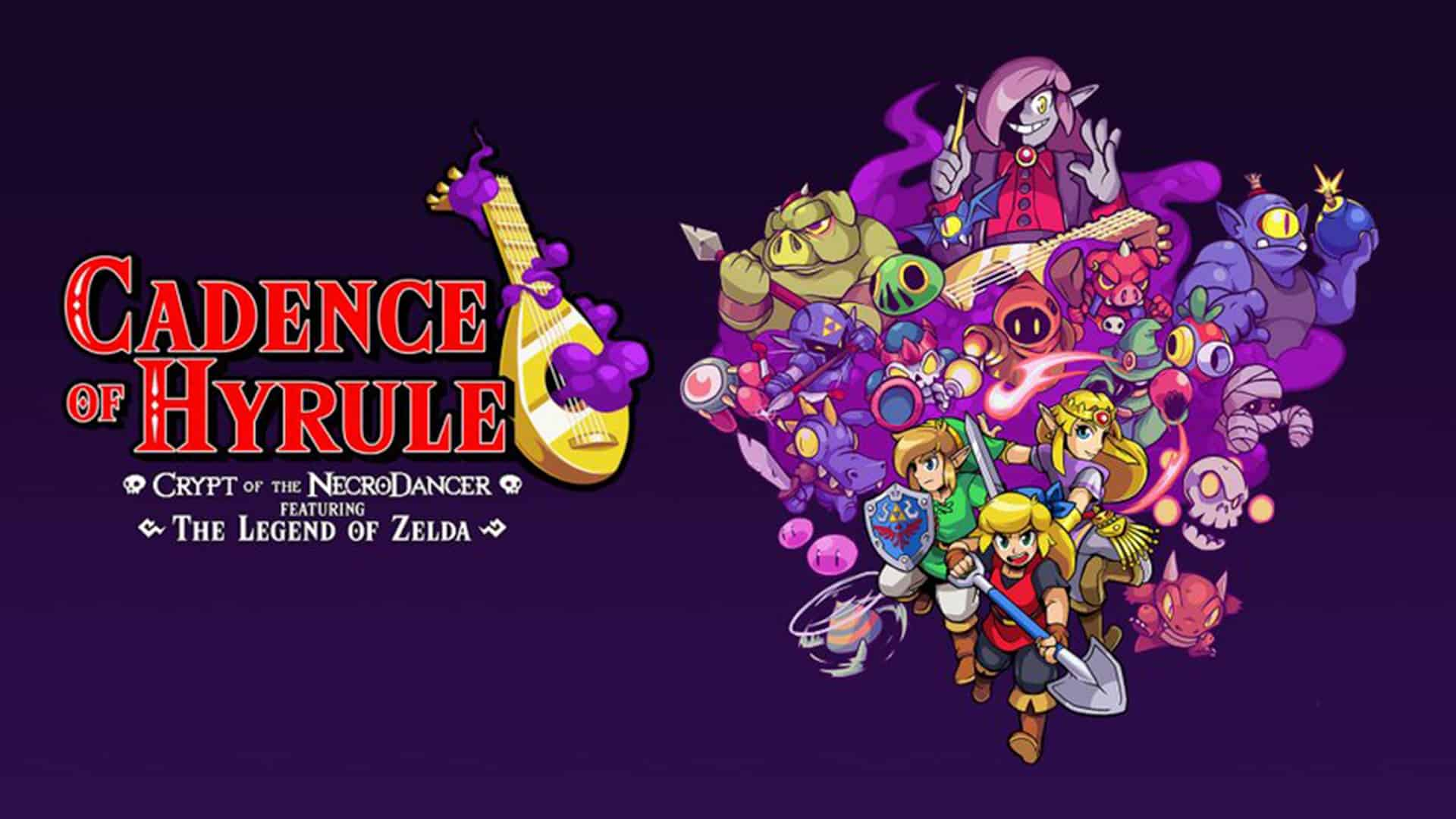 Cadence of Hyrule – Crypt of the NecroDancer Featuring The Legend of Zelda Available Now On Nintendo Switch