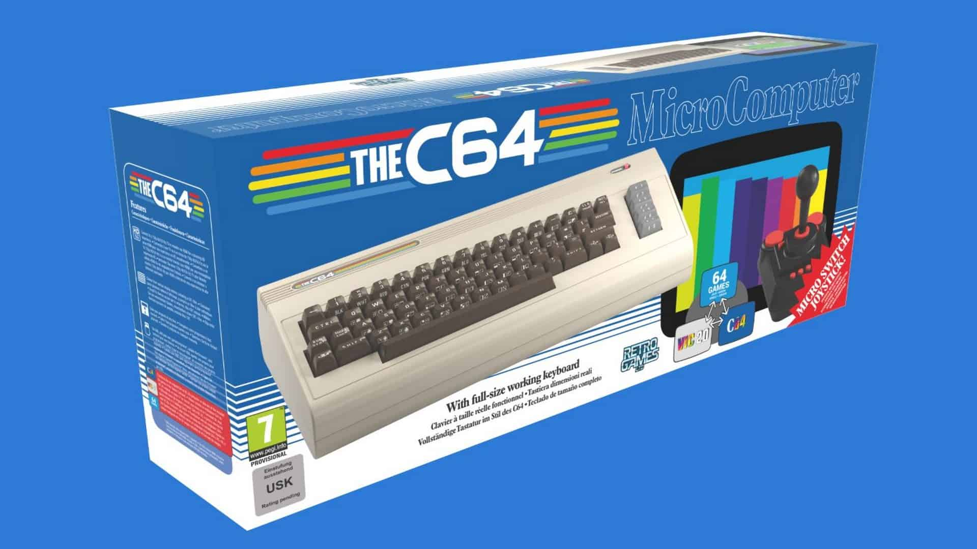 THEC64 – The World's Best-selling Home Computer – Re-Reborn