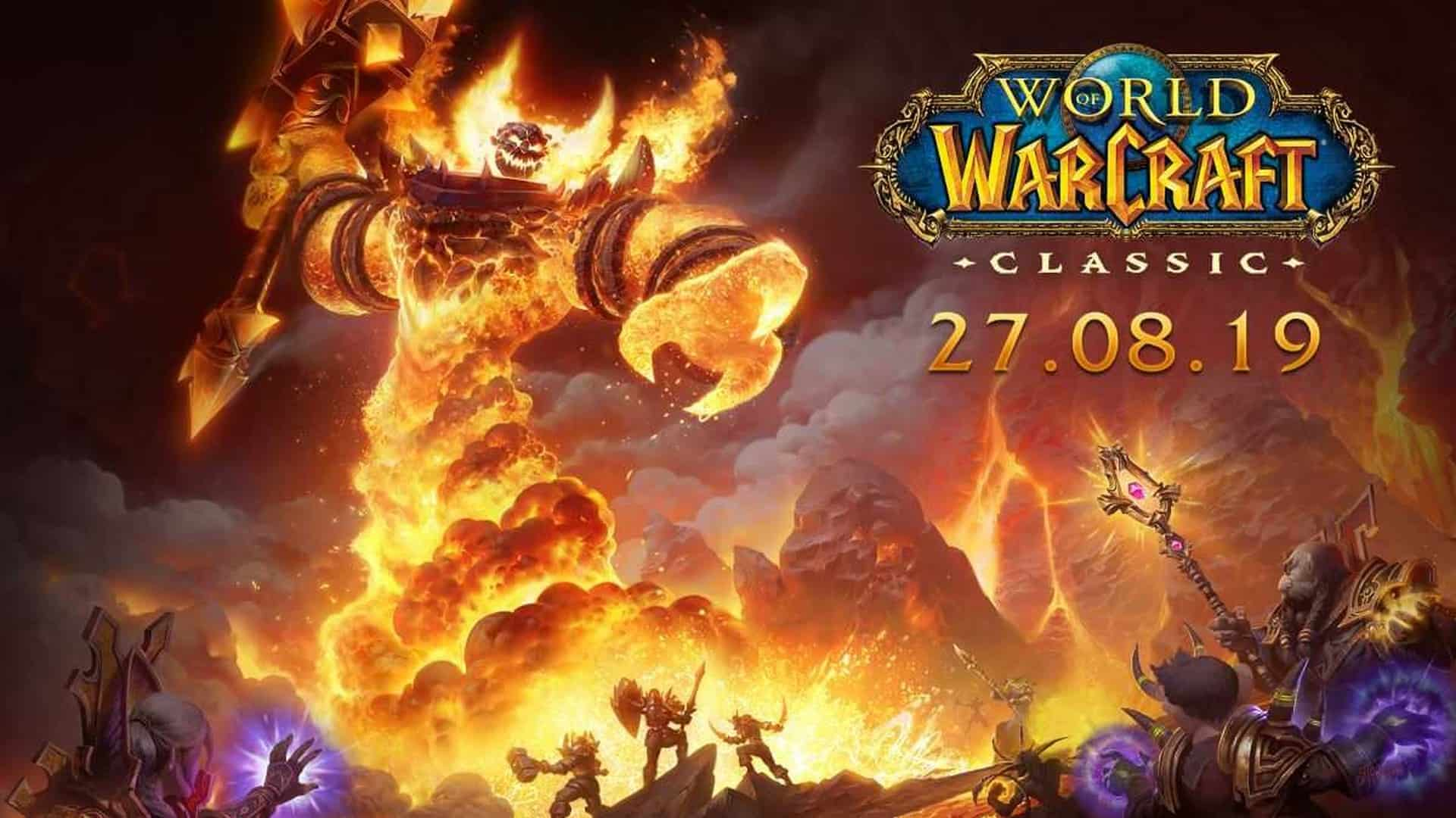 World of Warcraft Classic Servers in Australia & New Rise of Azshara Content Now Live