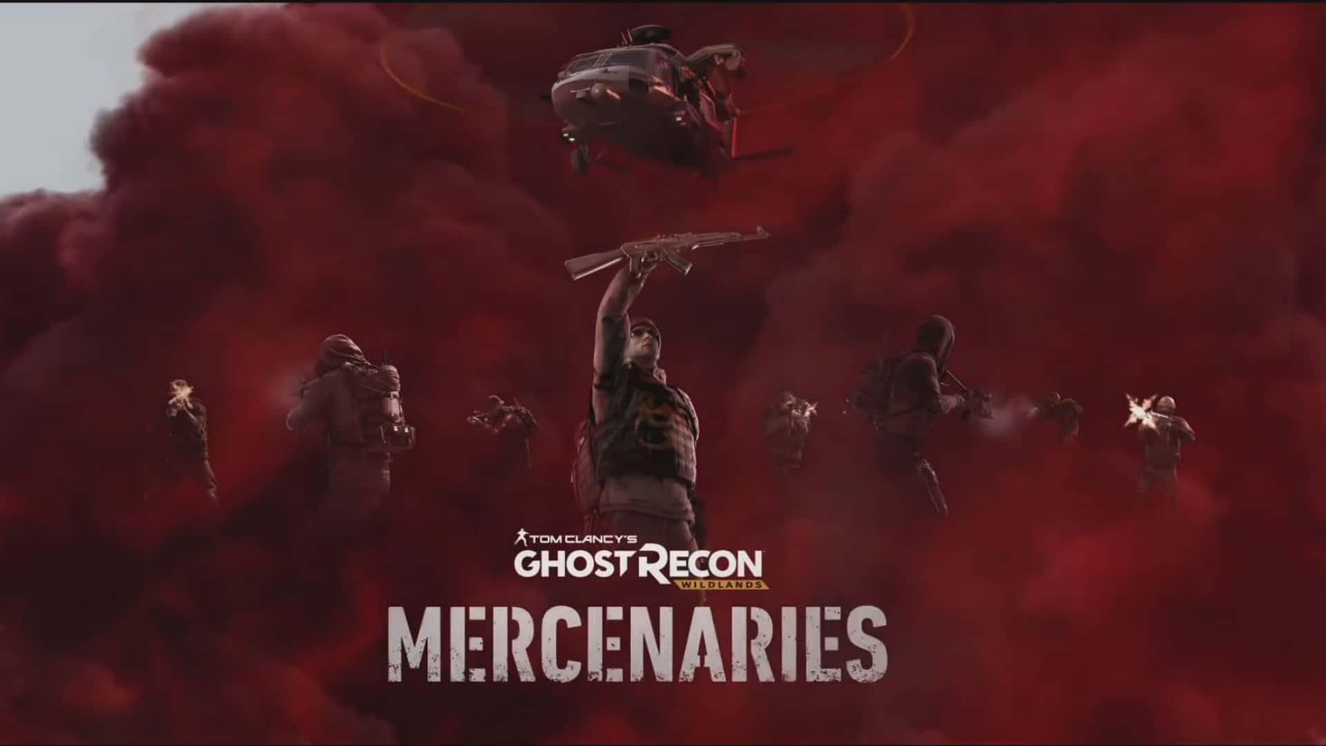 Go Head To Head In Tom Clancy's Ghost Recon Wildlands Mercenaries