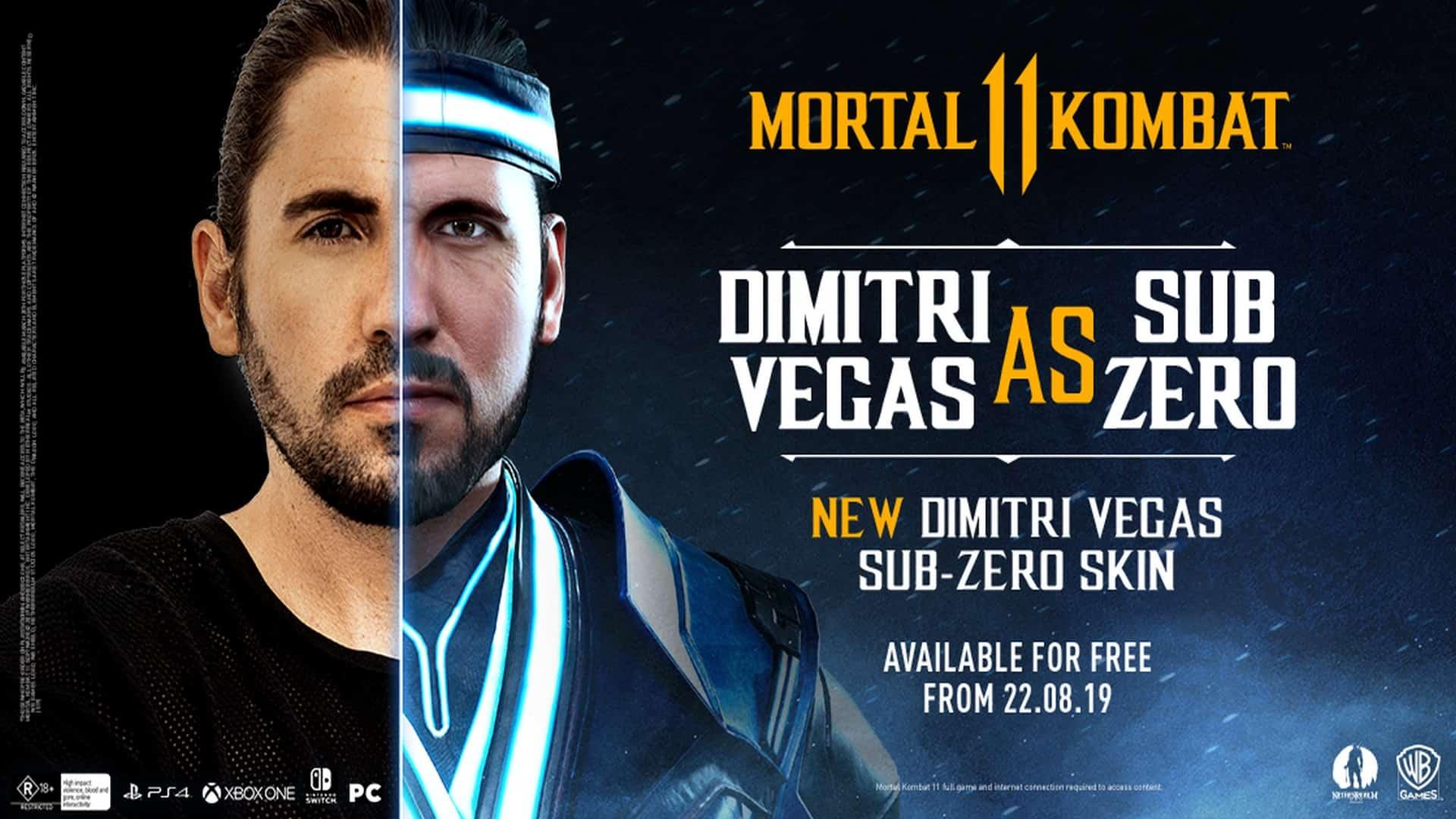 Mortal Kombat 11 Signature Sub-Zero Themed Character Skin Revealed