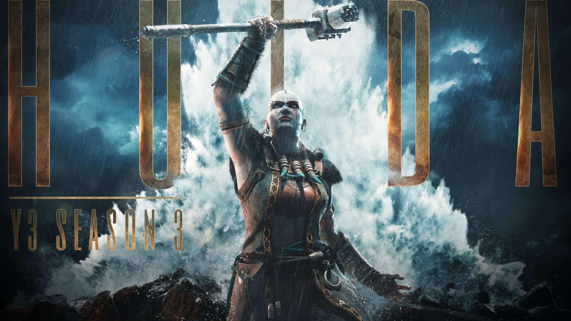 "For Honor Announces Year 3 Season 3: Hulda, With The New Hero, ""Jormungandr"""