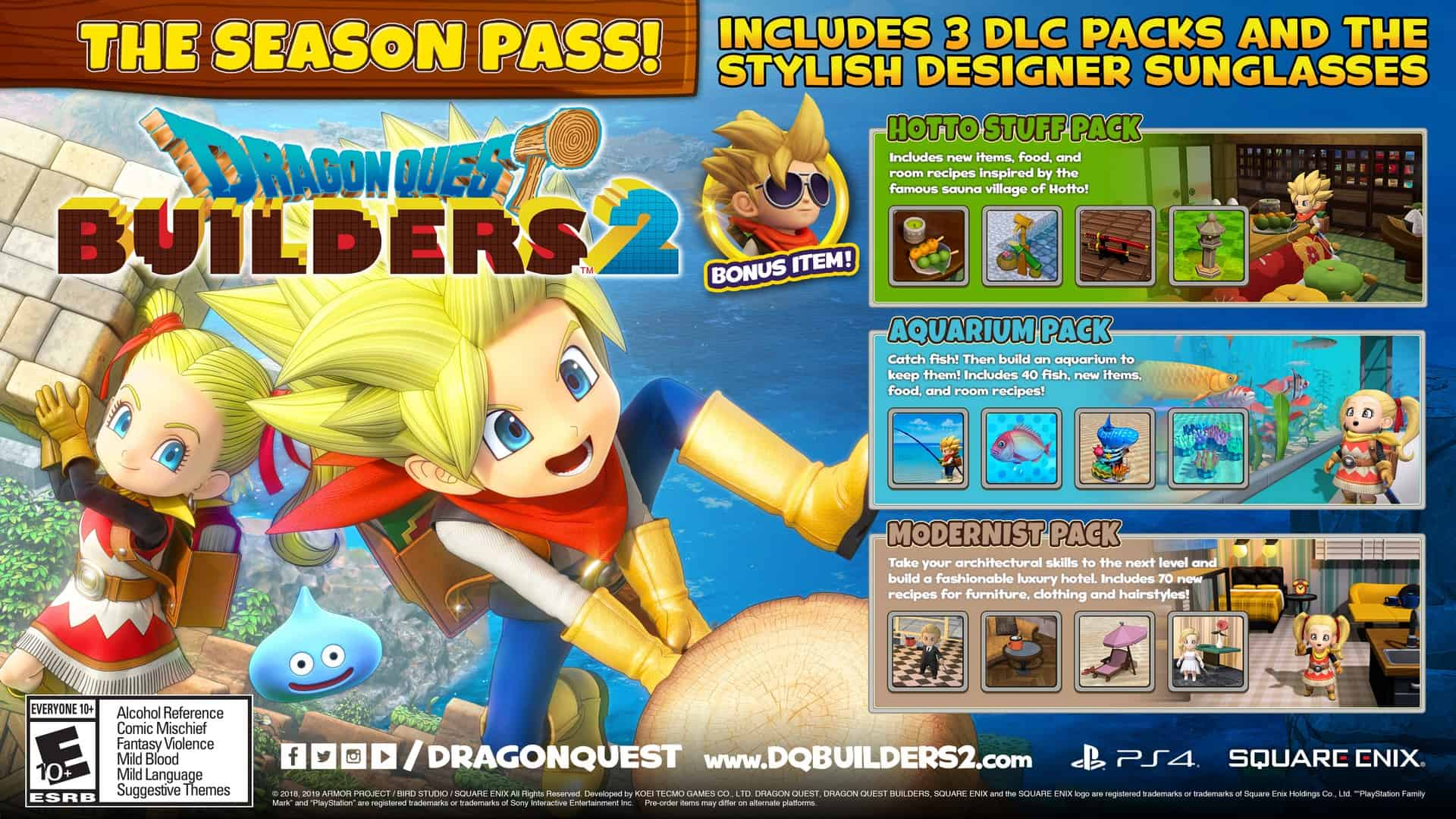 Dragon Quest Builders 2 Gets Even Bigger With New Season Pass Content Available Now For Playstation 4