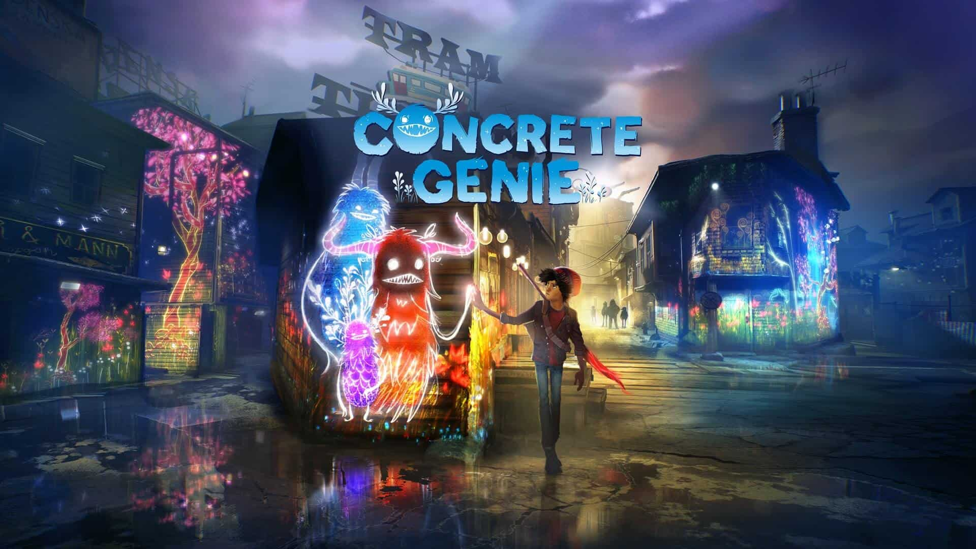 Concrete Genie Launches 9th October 2019 Exclusively On PS4