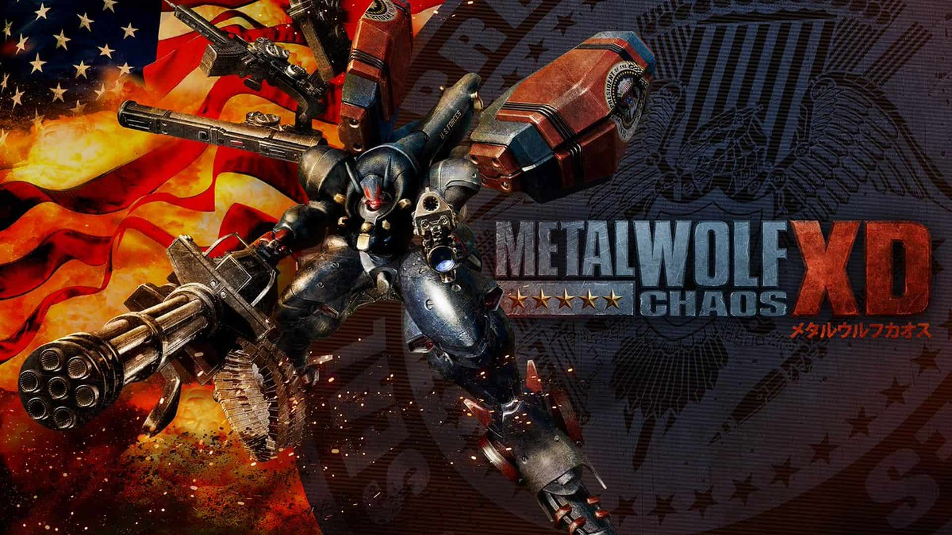 New Animated Launch Trailer for Metal Wolf Chaos XD