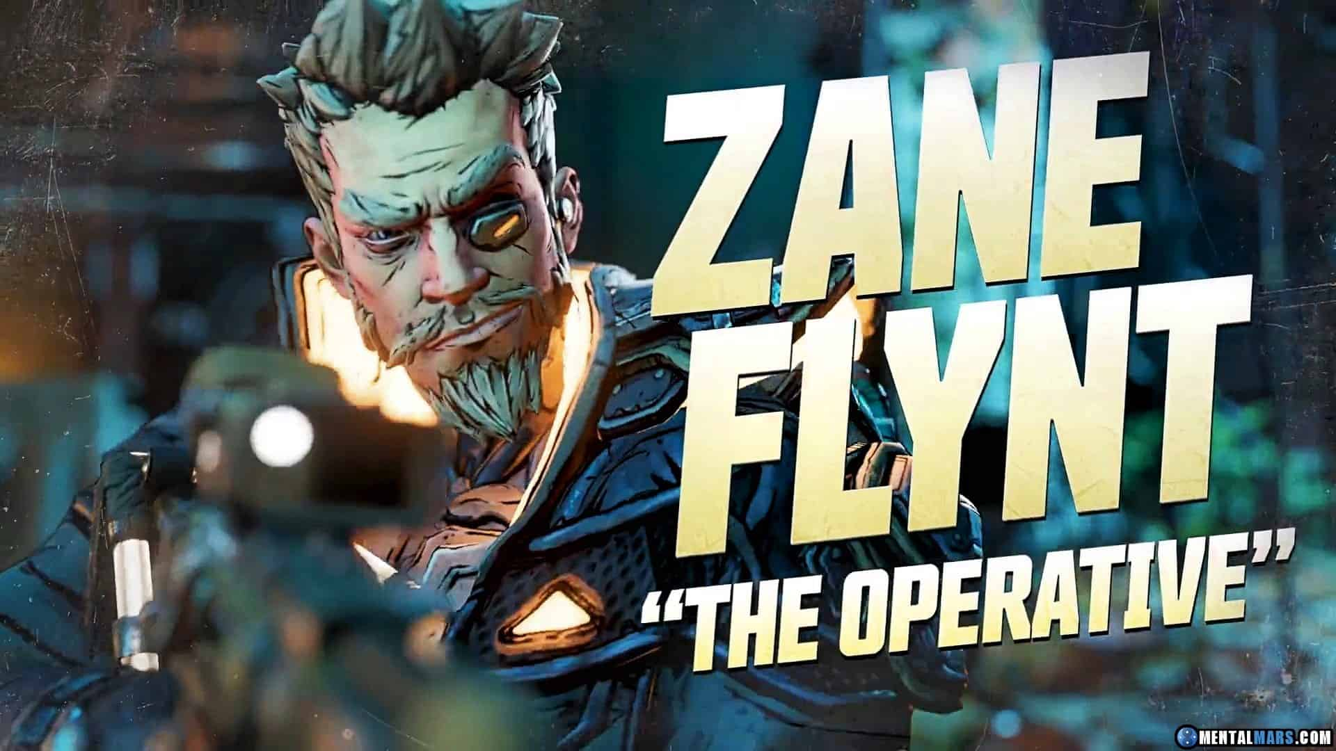 Get to Know Zane The Operative In New Borderlands 3 Vault Hunter Profile Video