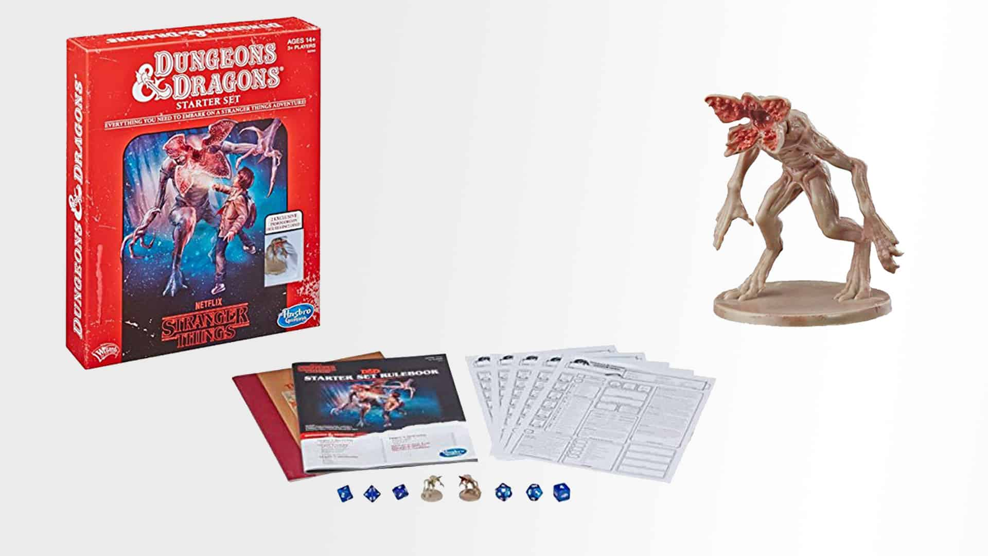 Explore the Upside Down with the D&D Stranger Things Starter Set