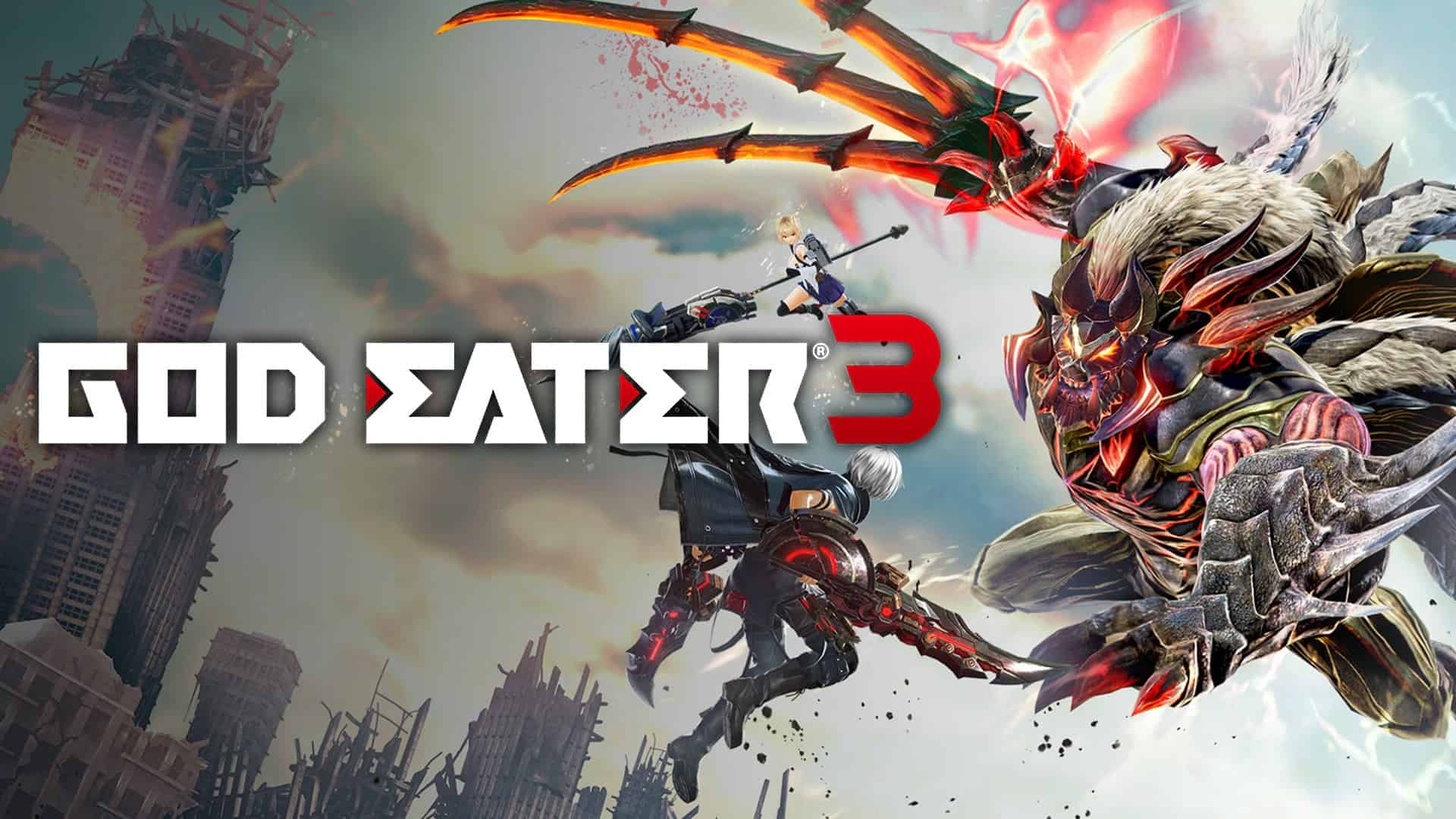 God Eater 3 Is Out Now For Nintendo Switch
