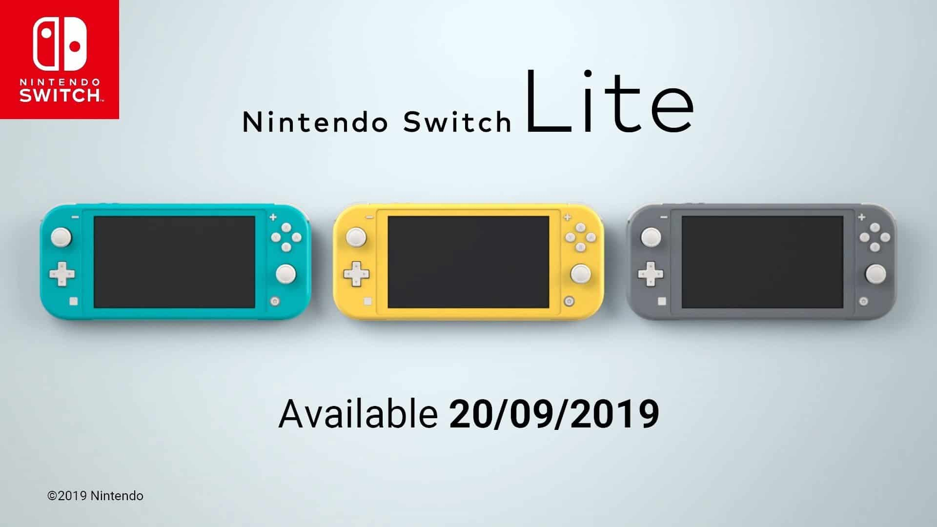 Nintendo Introduces Nintendo Switch Lite, A Device Dedicated To Handheld Gameplay