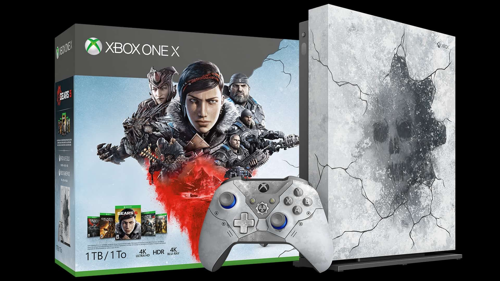Gears 5 Limited Edition Xbox One X Console & Accessories Available for Preorder Now