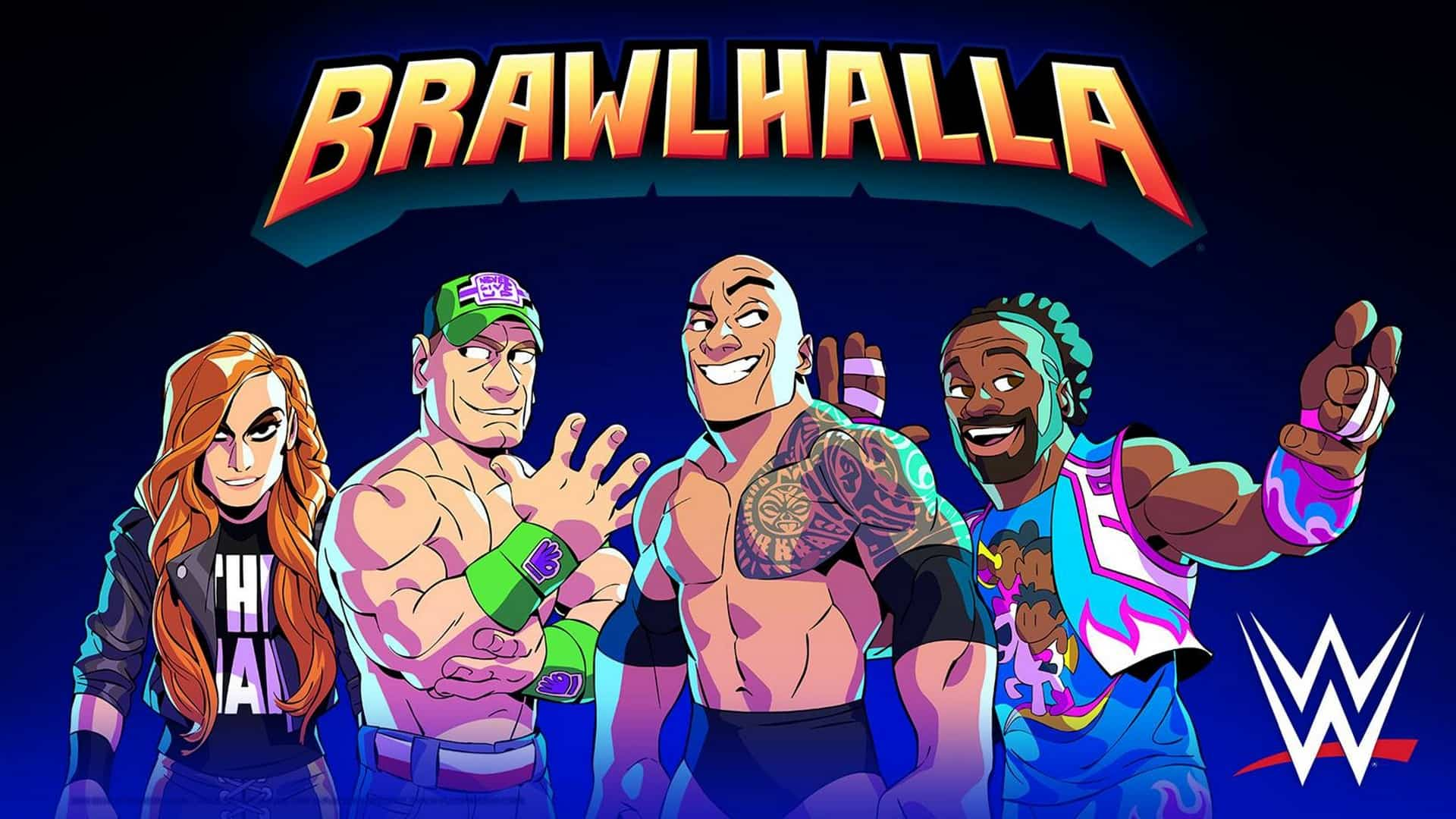 WWE Superstars Join BRAWLHALLA As Epic Crossovers in Special SummerSlam Themed In-Game Event
