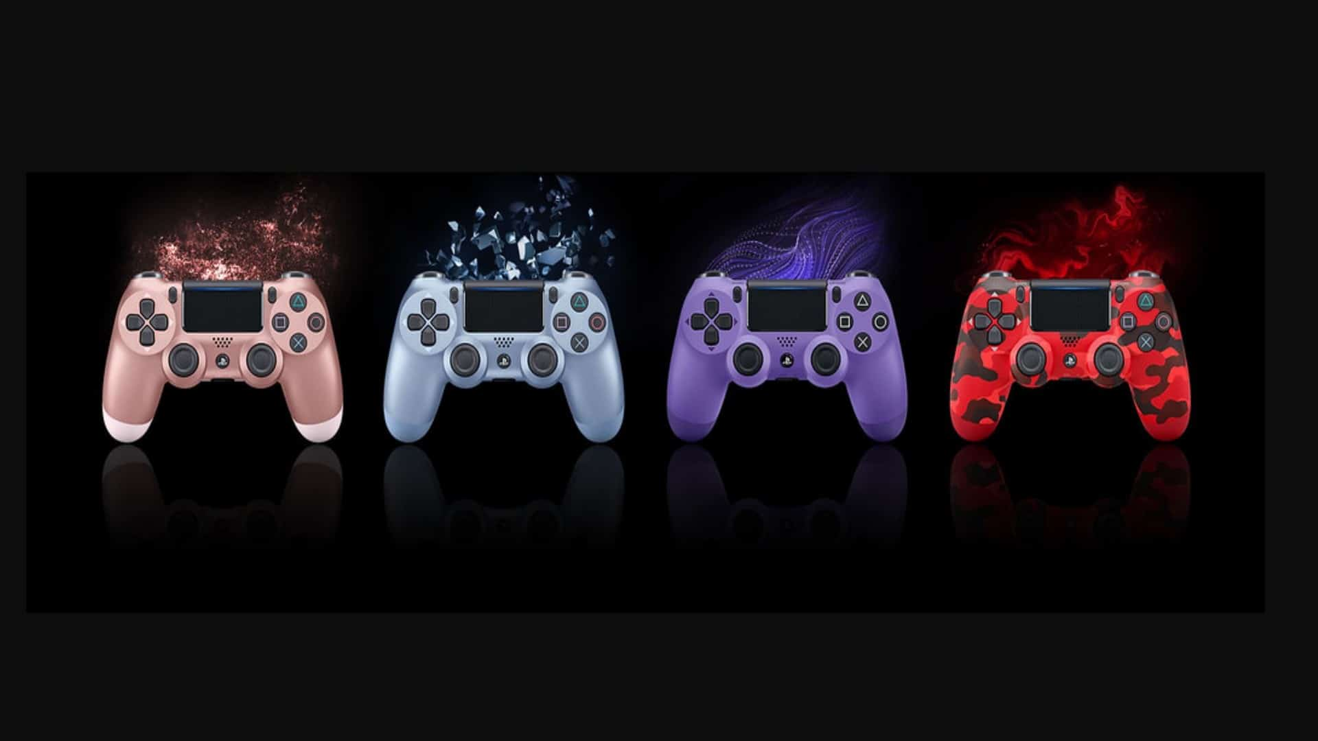 New DualShock 4 Wireless Controller Colours Revealed – New Rose Gold Edition Headset