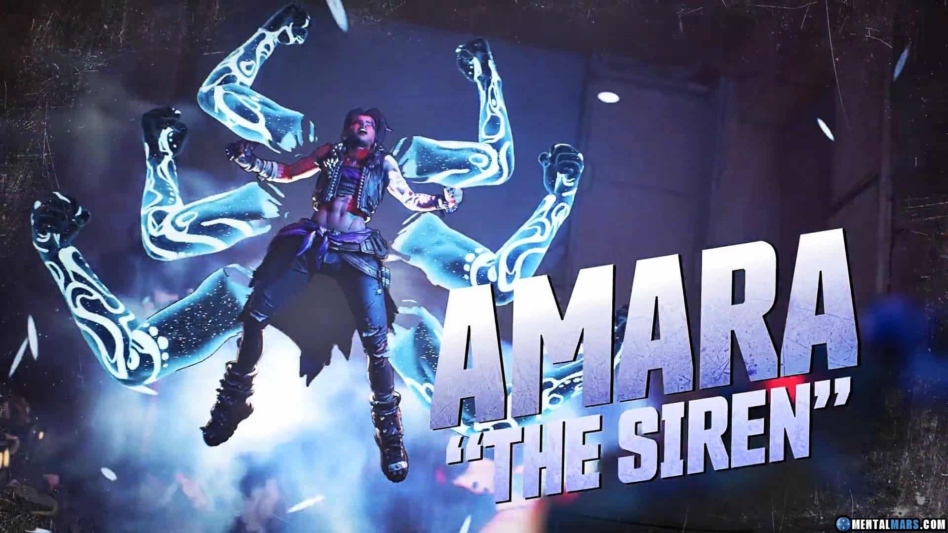 Amara The Siren Joins The Party In Latest Borderlands 3 Vault Hunter Profile Trailer