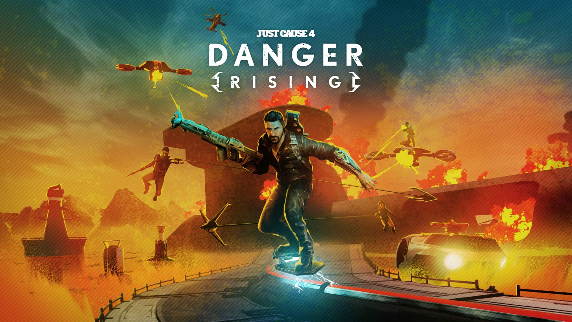 Just Cause 4: Danger Rising Out Now