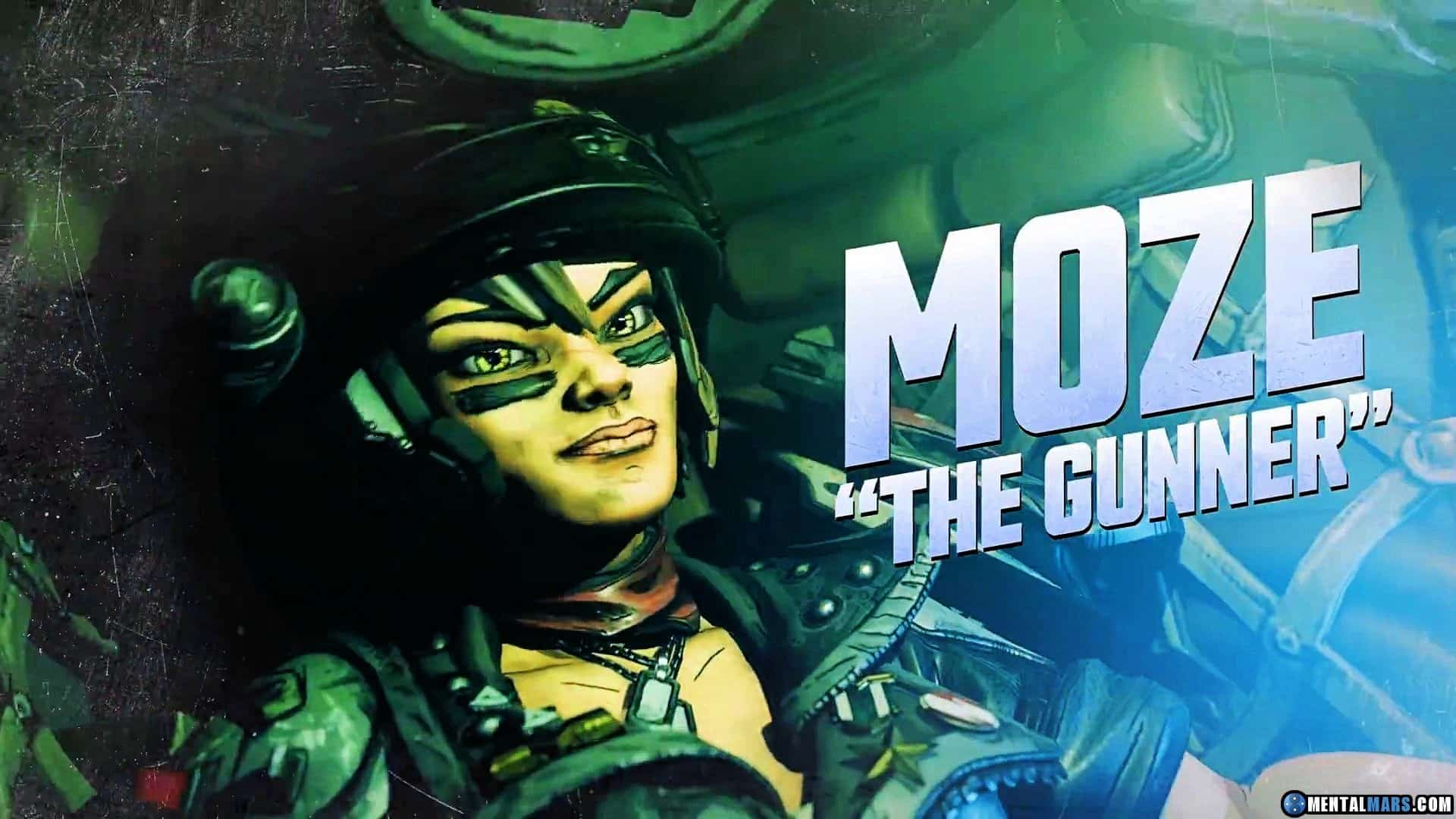 Meet Moze The Gunner In The Latest Borderlands 3 Vault Hunter Profile Trailer