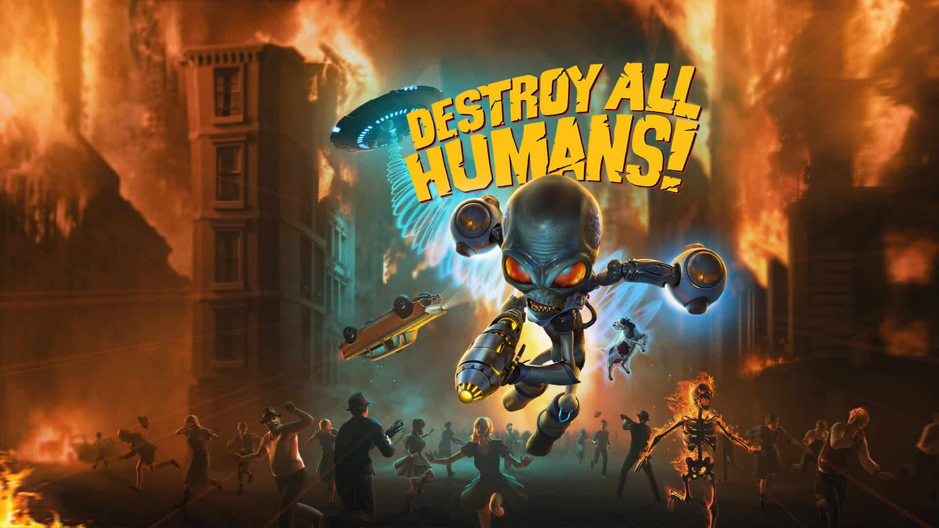Collect All Aliens With Two Galactic Destroy All Humans! Special Editions