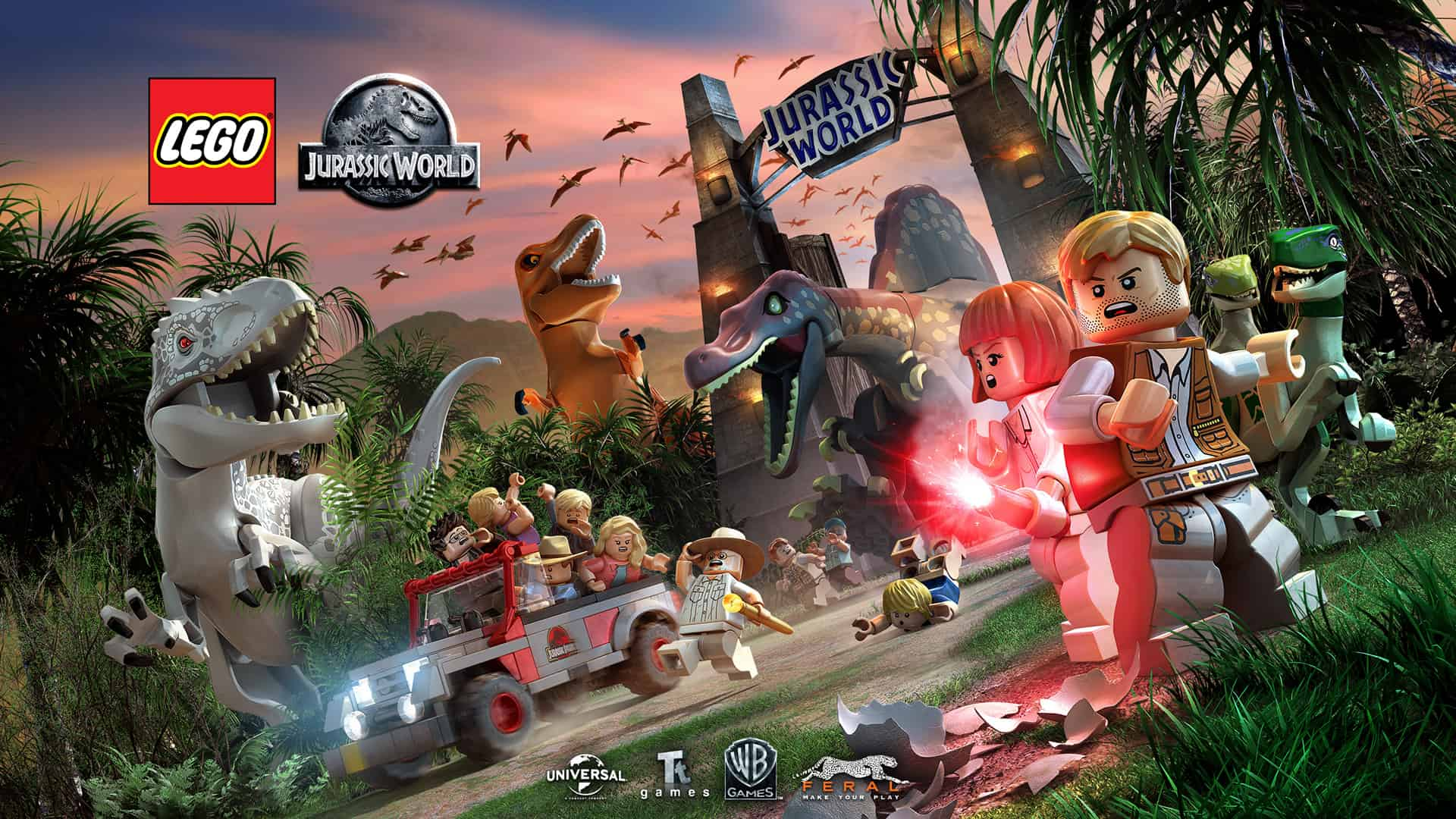 LEGO Jurassic World Out Now For Nintendo Switch