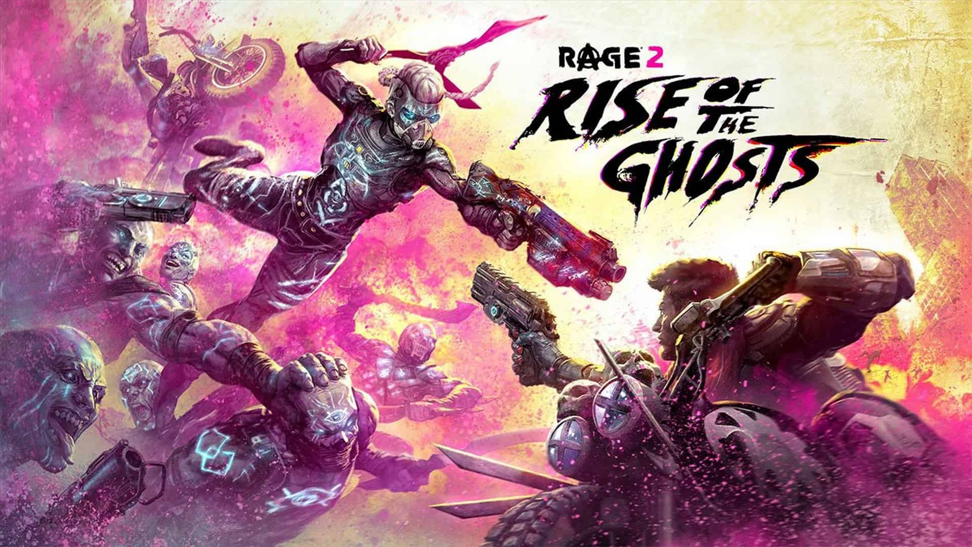 RAGE 2's Rise of the Ghost Expansion Available Now
