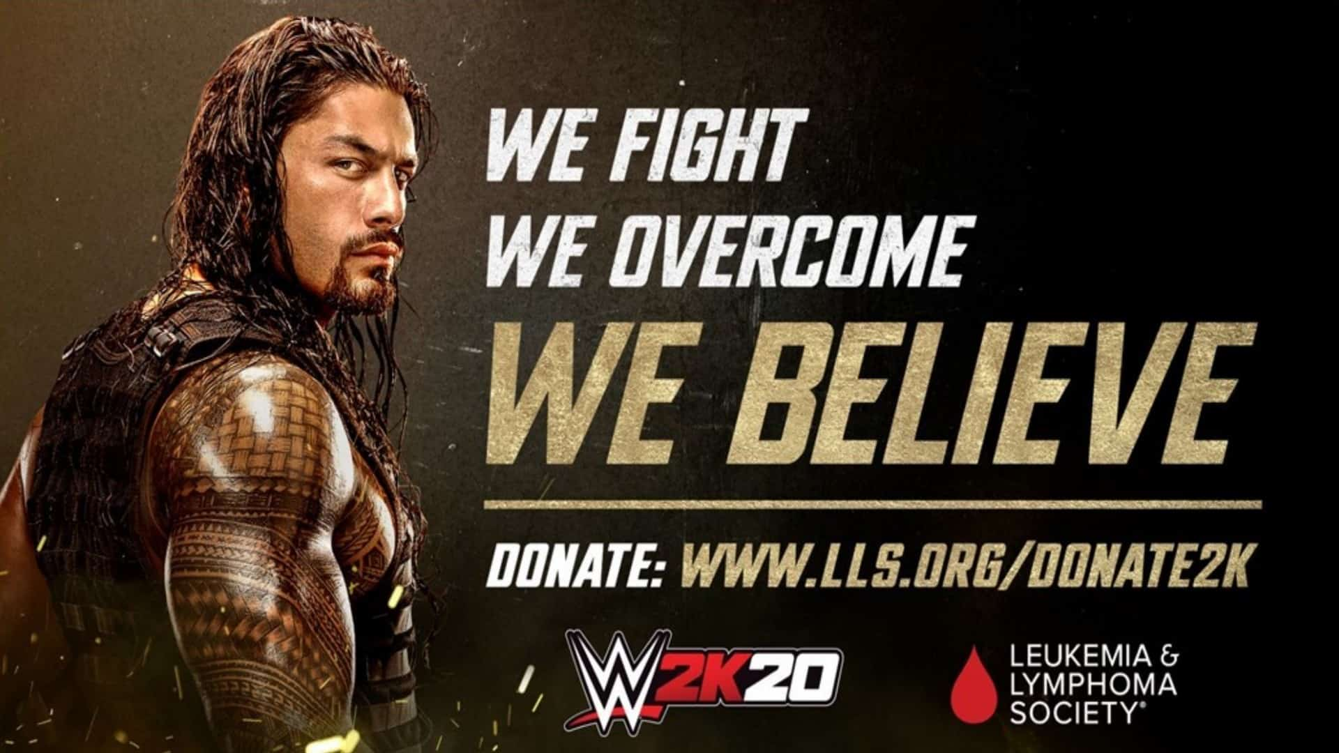 2K Announces Global Partnership For WWE 2K20 With The Leukemia & Lymphoma Society