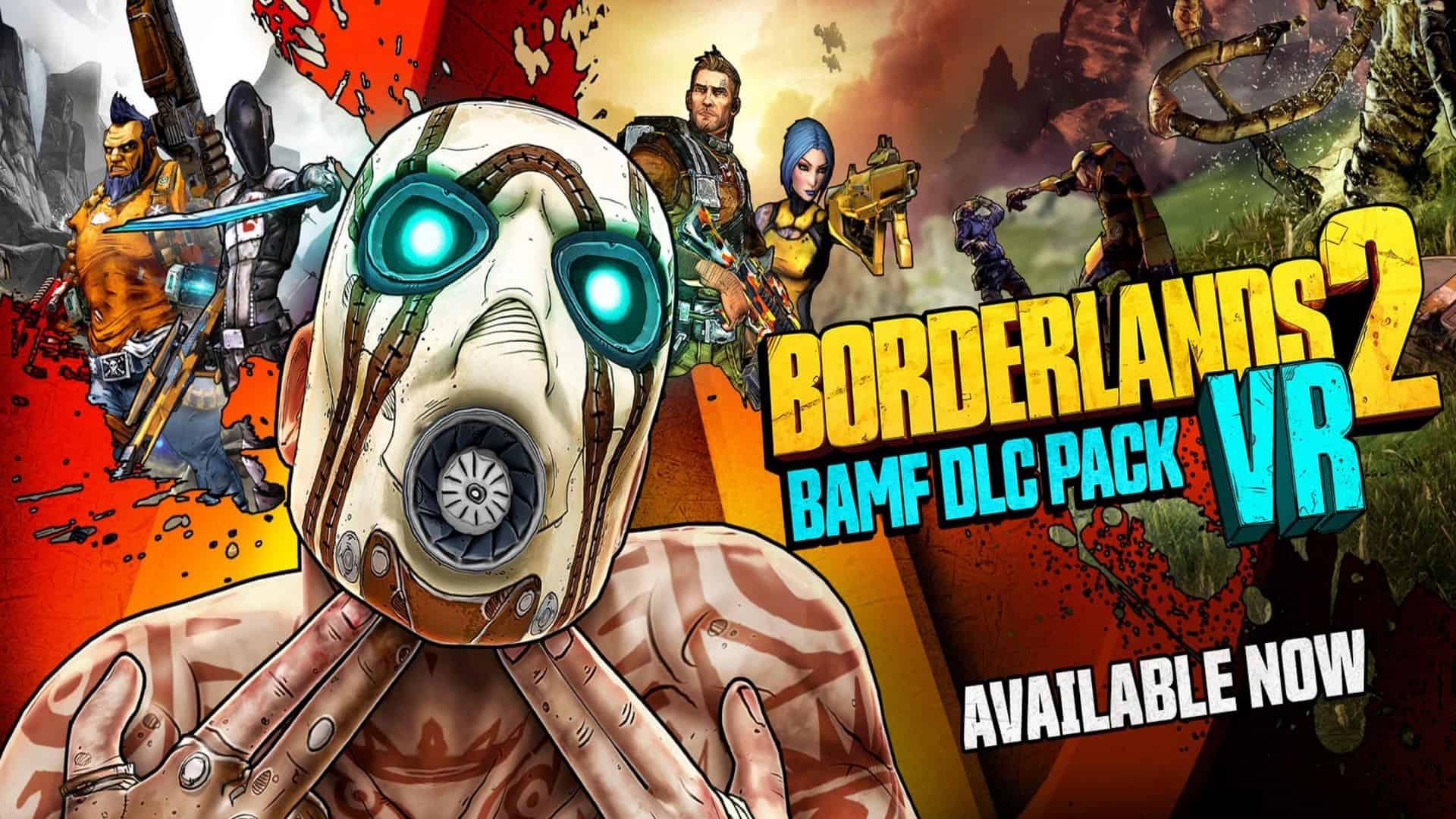2K Games Announce Free DLC For Borderlands 2 VR