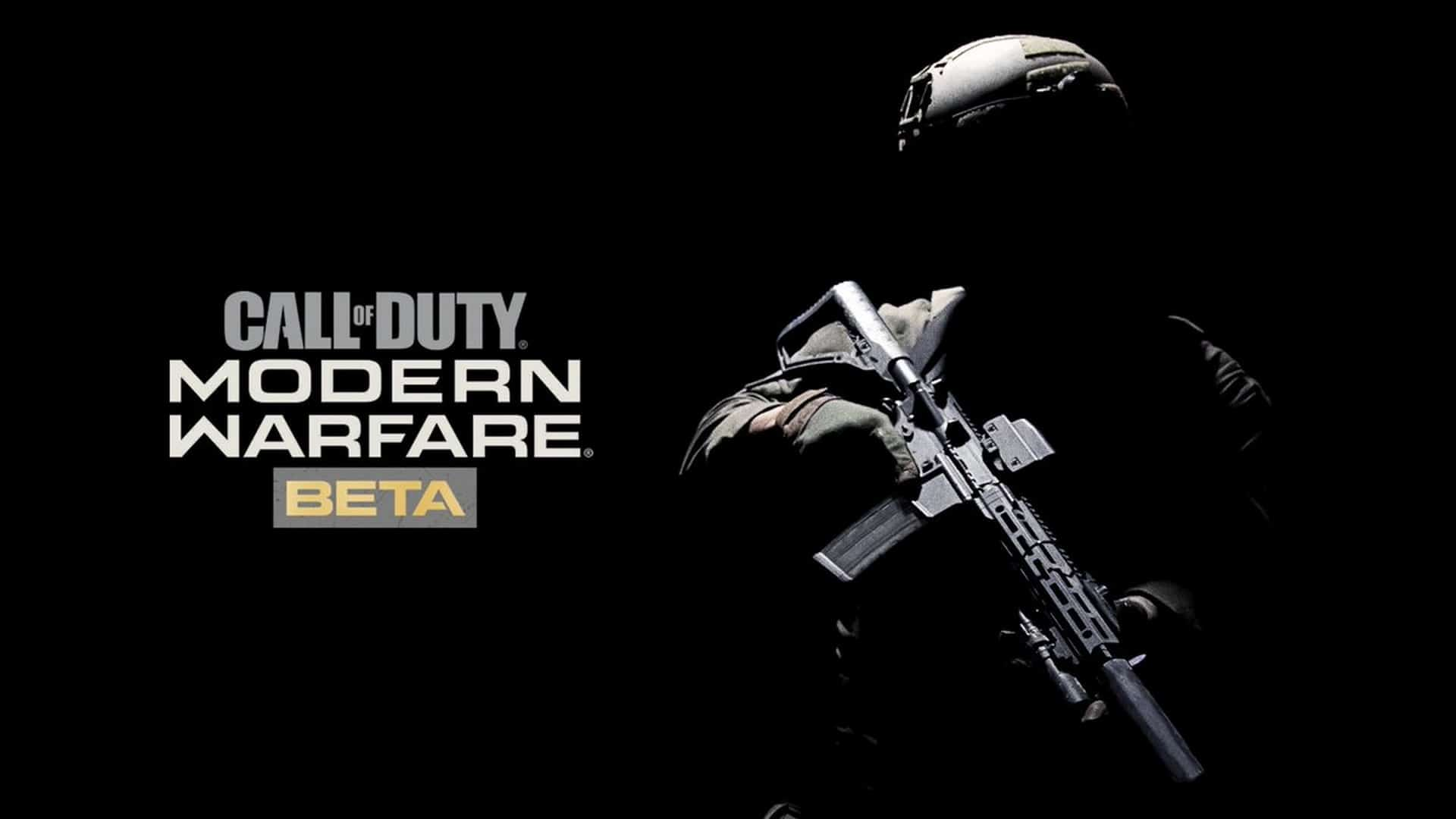 Call Of Duty: Modern Warfare Multiplayer BETA Starts Today