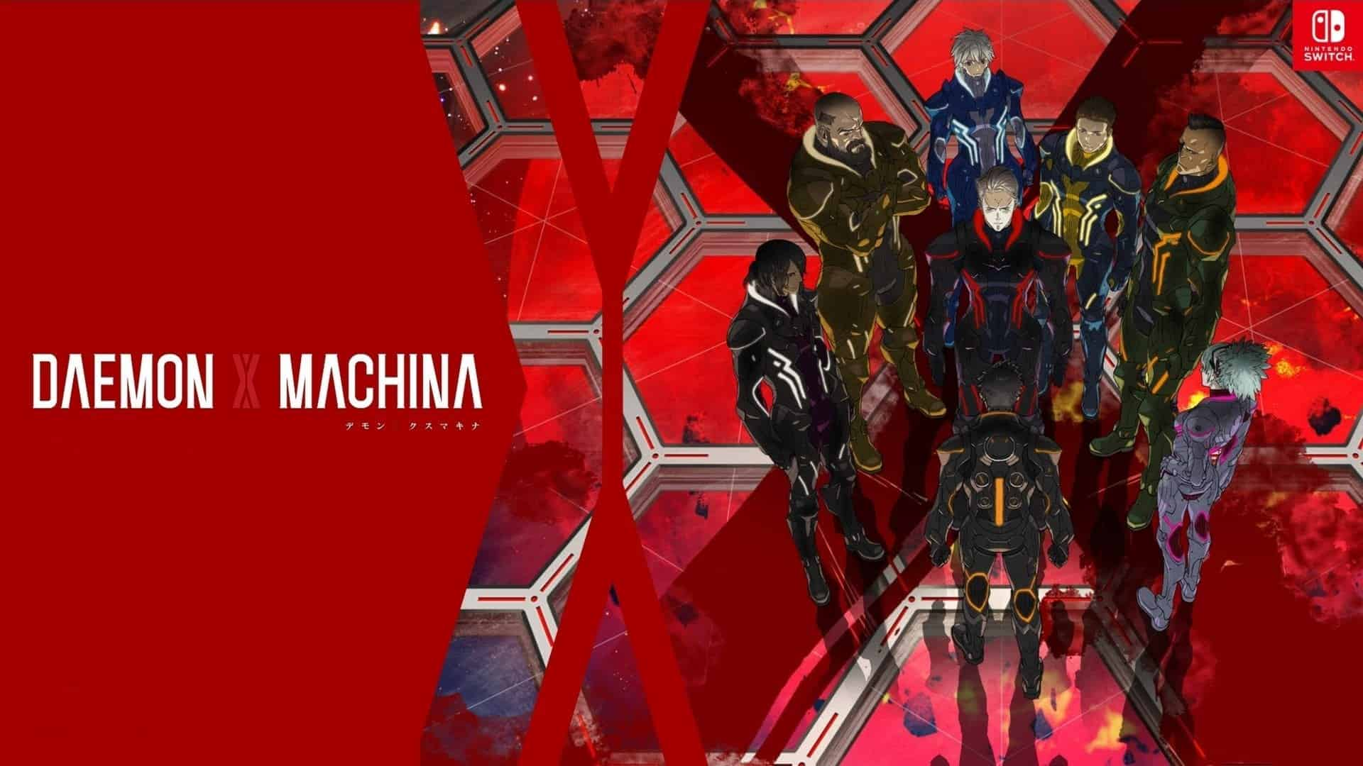 Suit Up, Reclaimers! DAEMON X MACHINA Is Now Available For Nintendo Switch