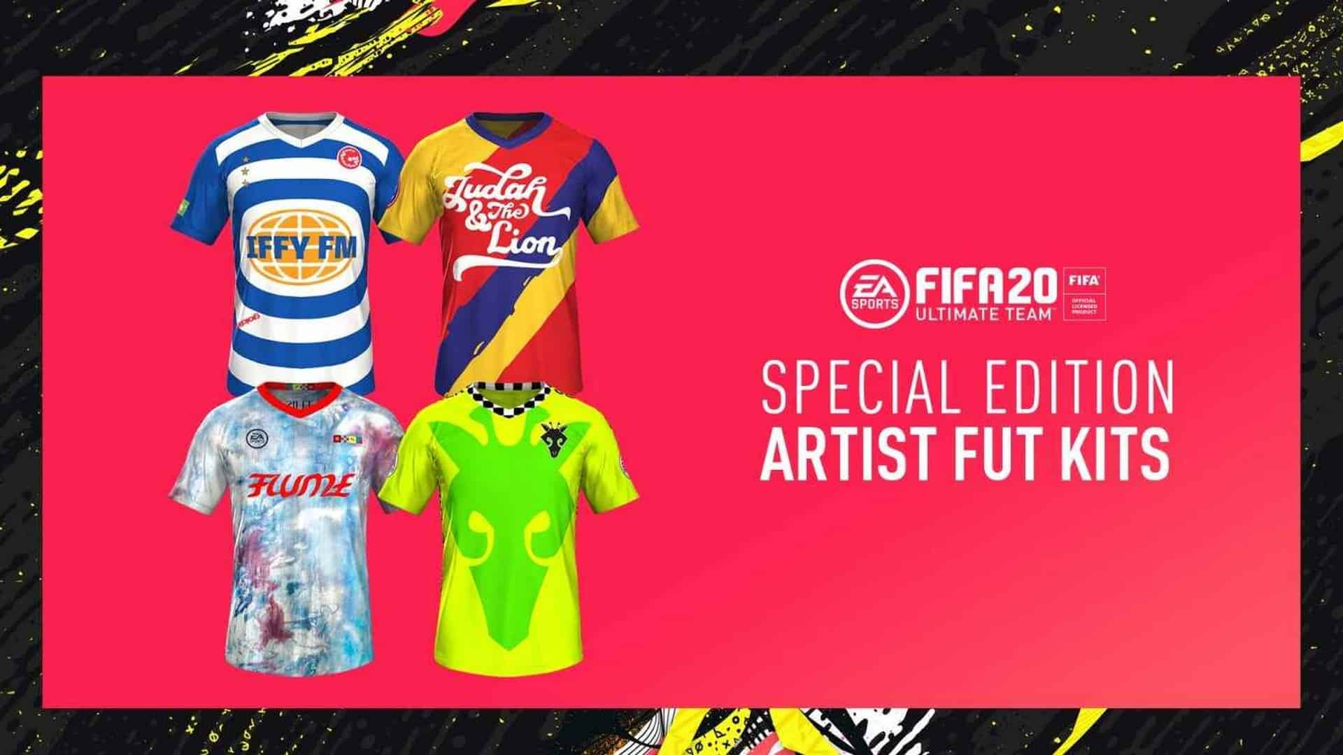 Full FIFA 20 & VOLTA Soundtracks Available Now & First Glimpse Of Kits Designed by Flume, Sofi Tukker, GoldLink, and Judah & The Lion