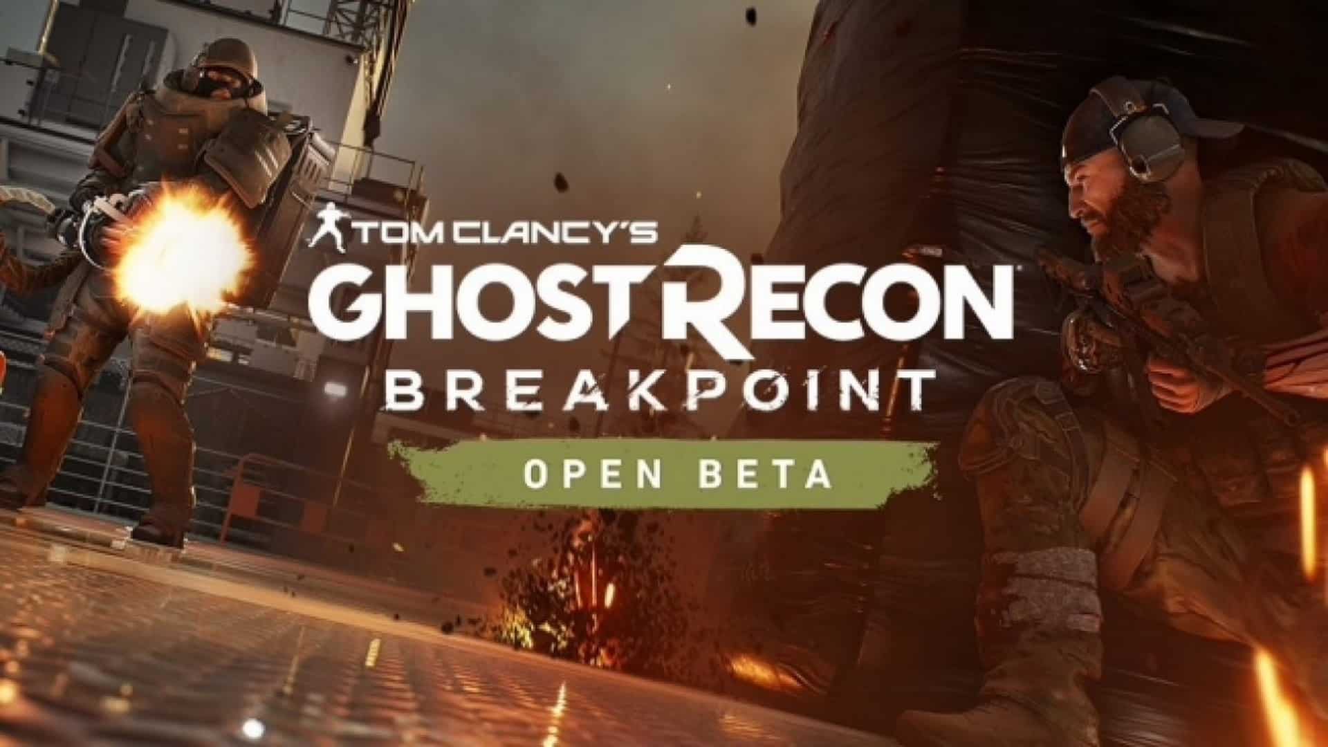 Ghost Recon Breakpoint Announces Open BETA Dates
