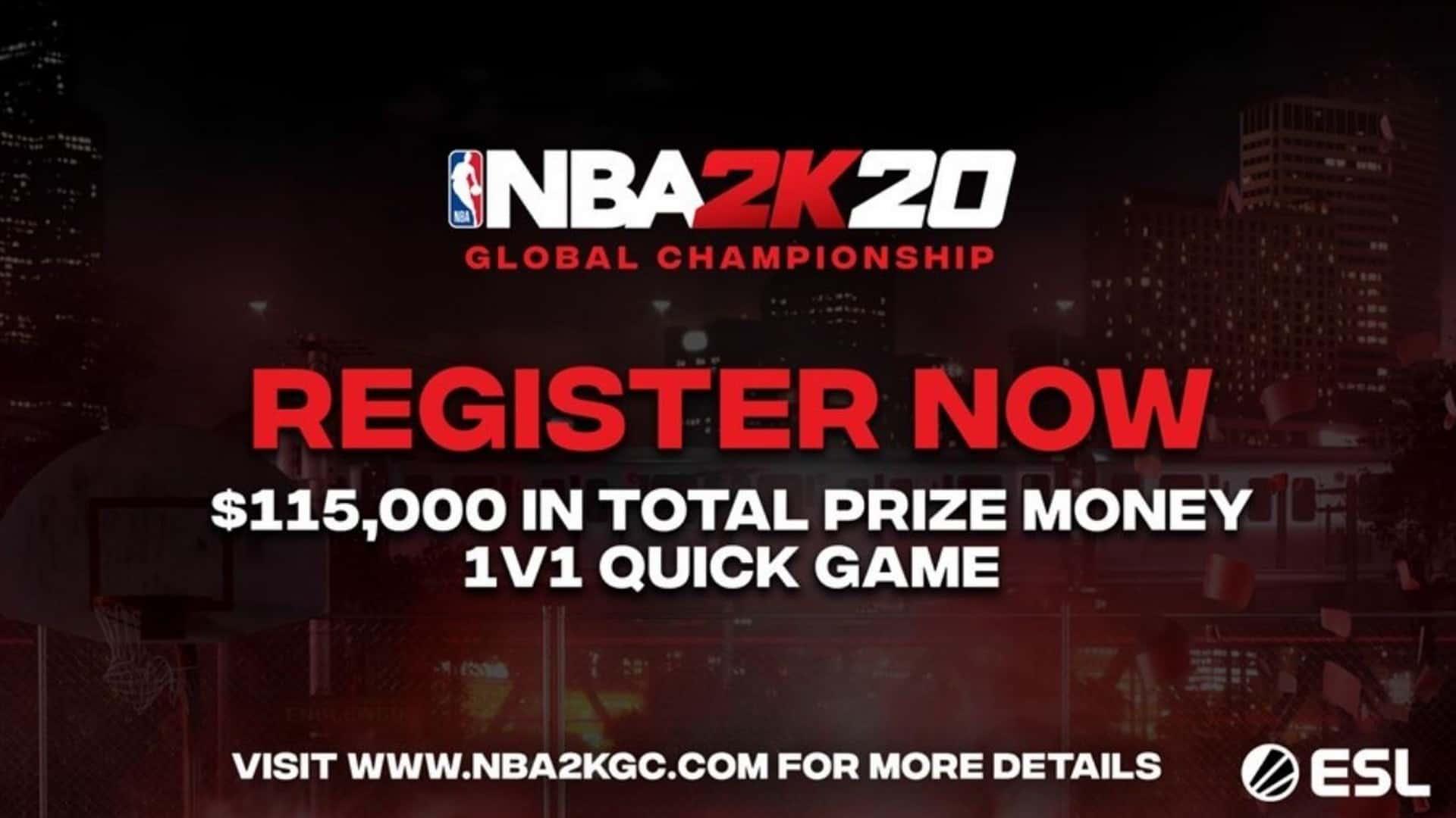 2K Announces Inaugural NBA 2K20 Global Championship