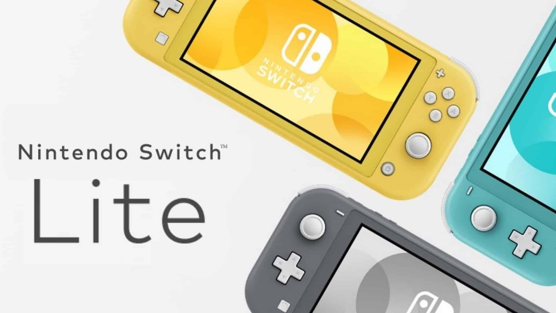 Nintendo Switch Family Grows With Today's Launch Of Nintendo Switch Lite