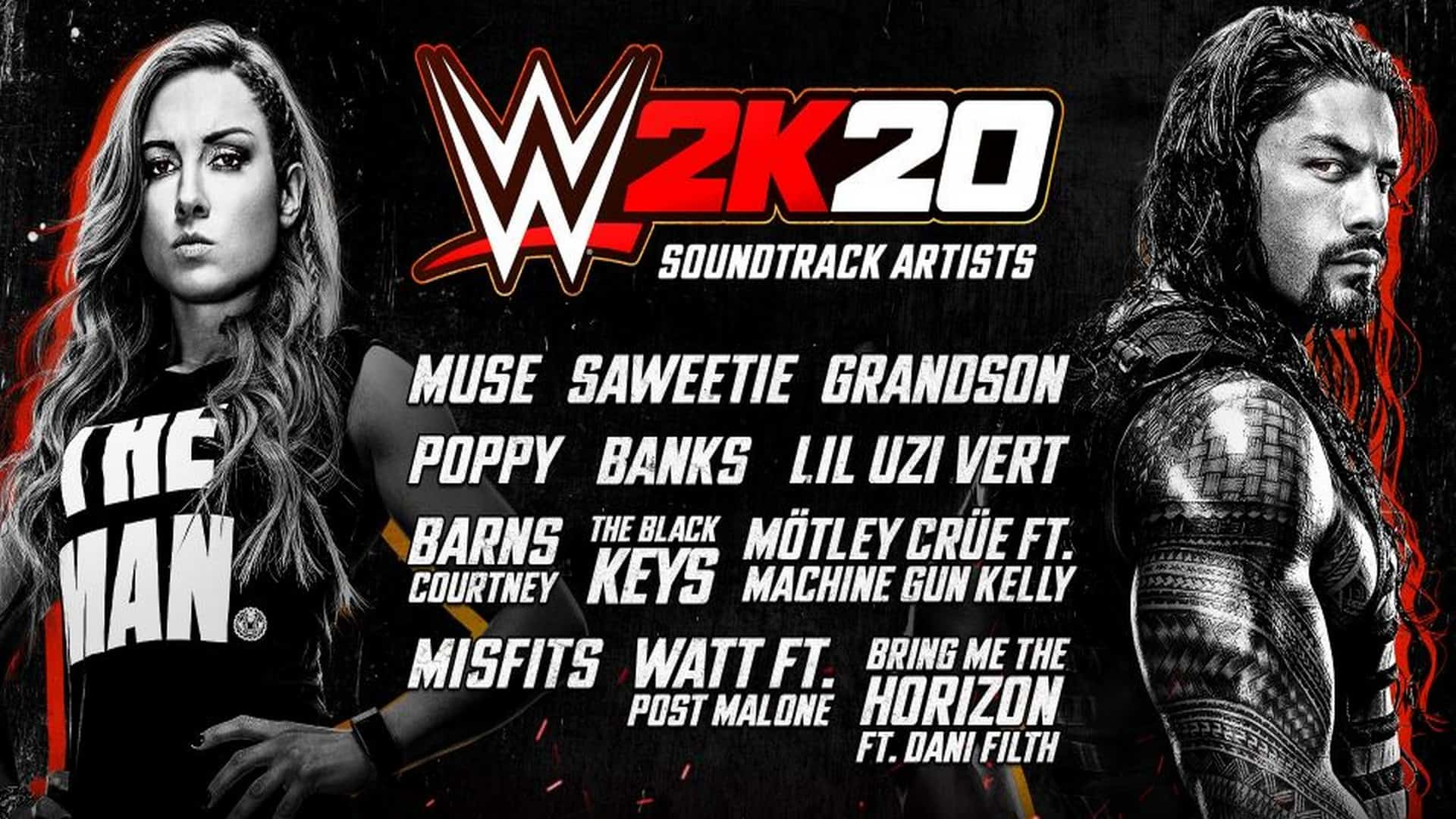 WWE 2K20 In-Game Soundtrack Announced