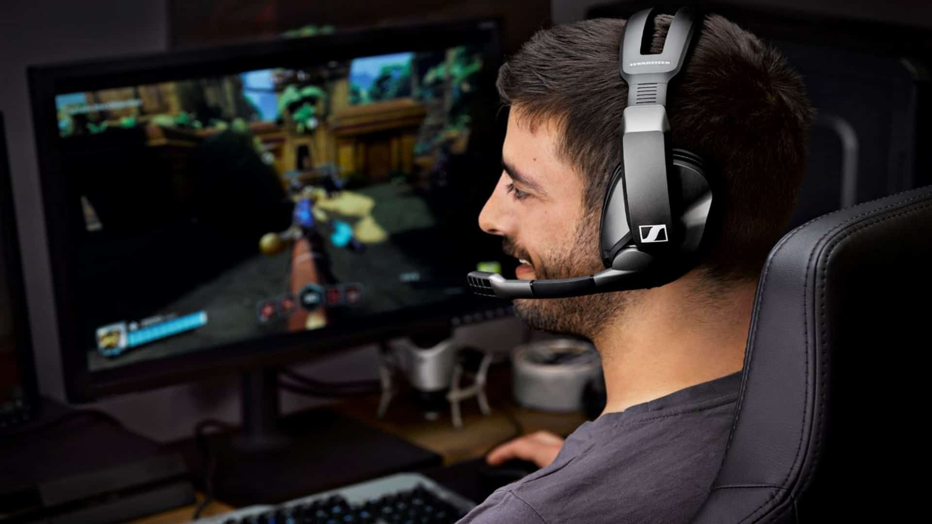 Sennheiser Introduces The GSP 370 – Up To 100 Hours Of Wireless Gaming