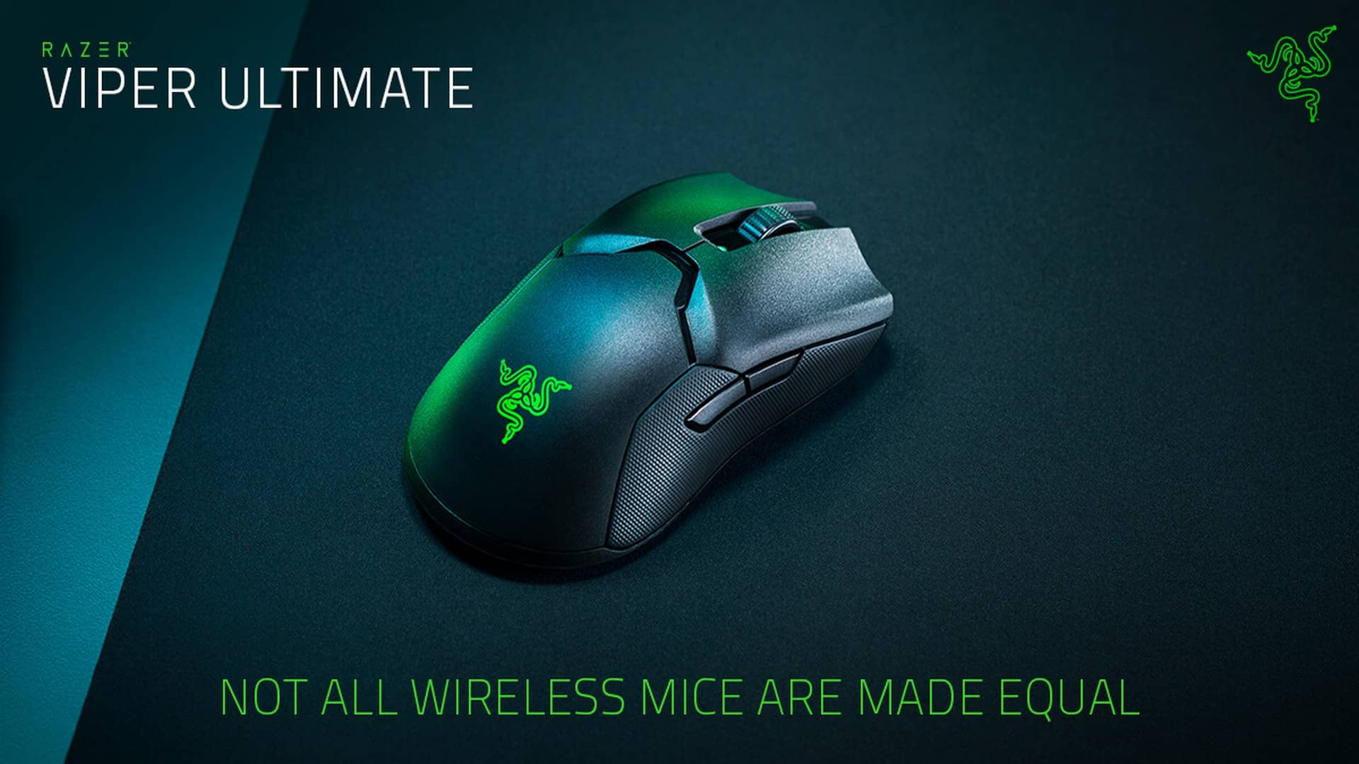 Dominate At Hyperspeed With The Razer Viper Ultimate Wireless Gaming Mouse