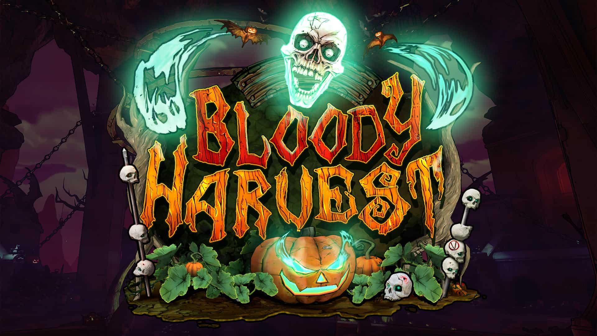 "Borderlands 3 Free Seasonal Event ""Bloody Harvest"" Goes Live October 24"