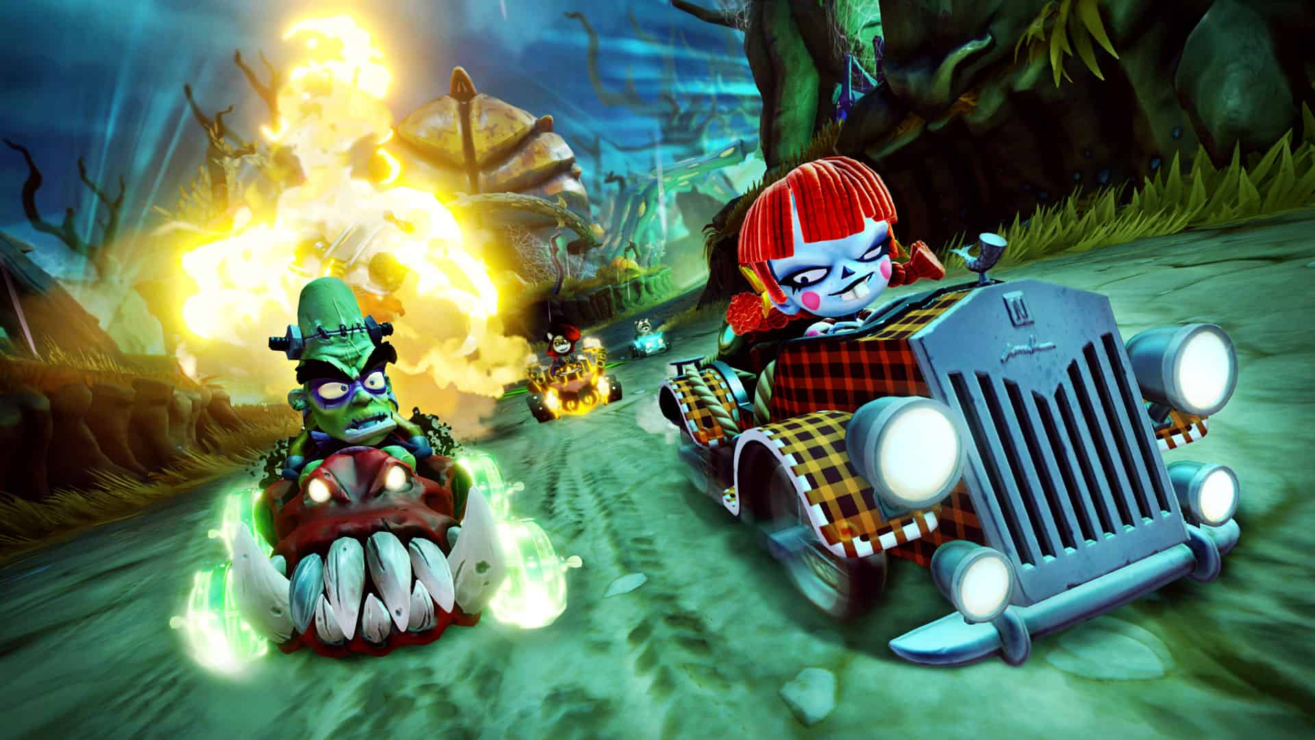 Crash Team Racing: Nitro-Fueled Gets Ghoulish With Its Fourth Grand Prix
